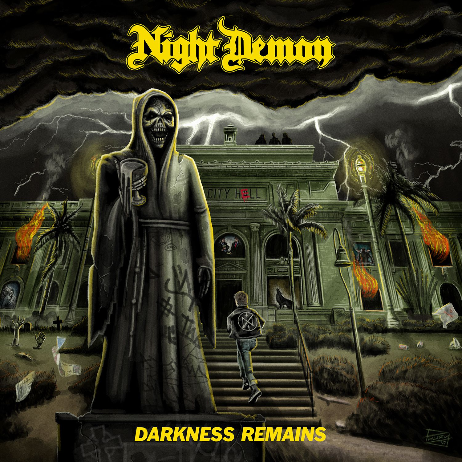 "CD review NIGHT DEMON ""Darkness Remains"""