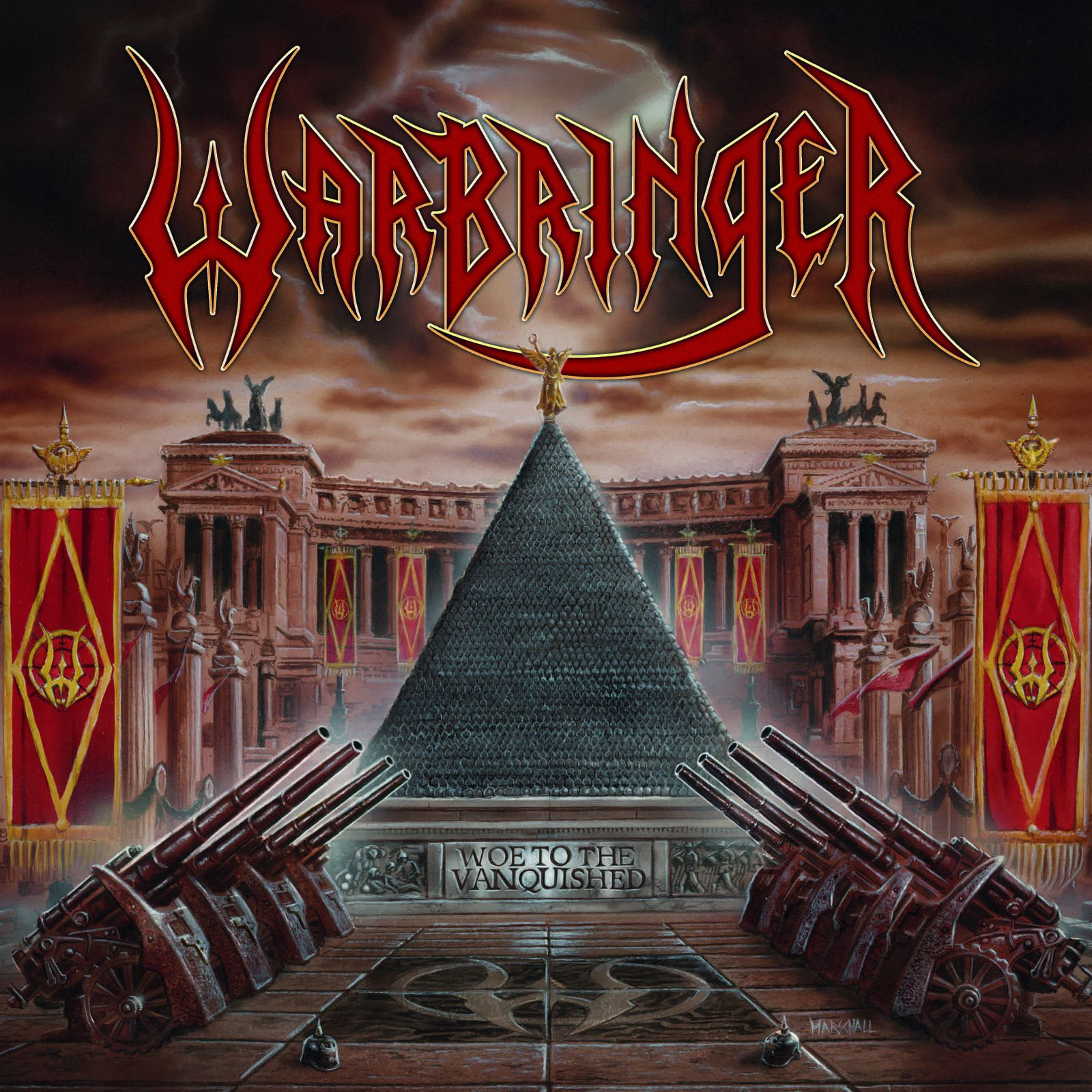 "CD review WARBRINGER ""Woe to the Vanquished"""