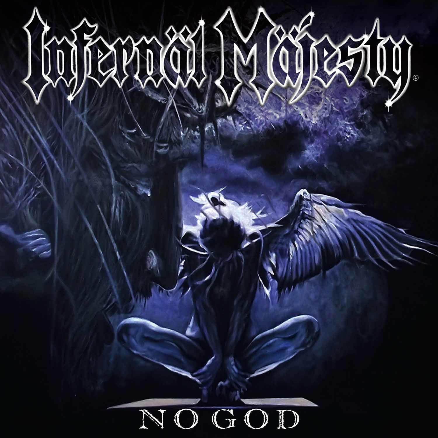"CD review INFERNÄL MÄJESTY ""No God"""