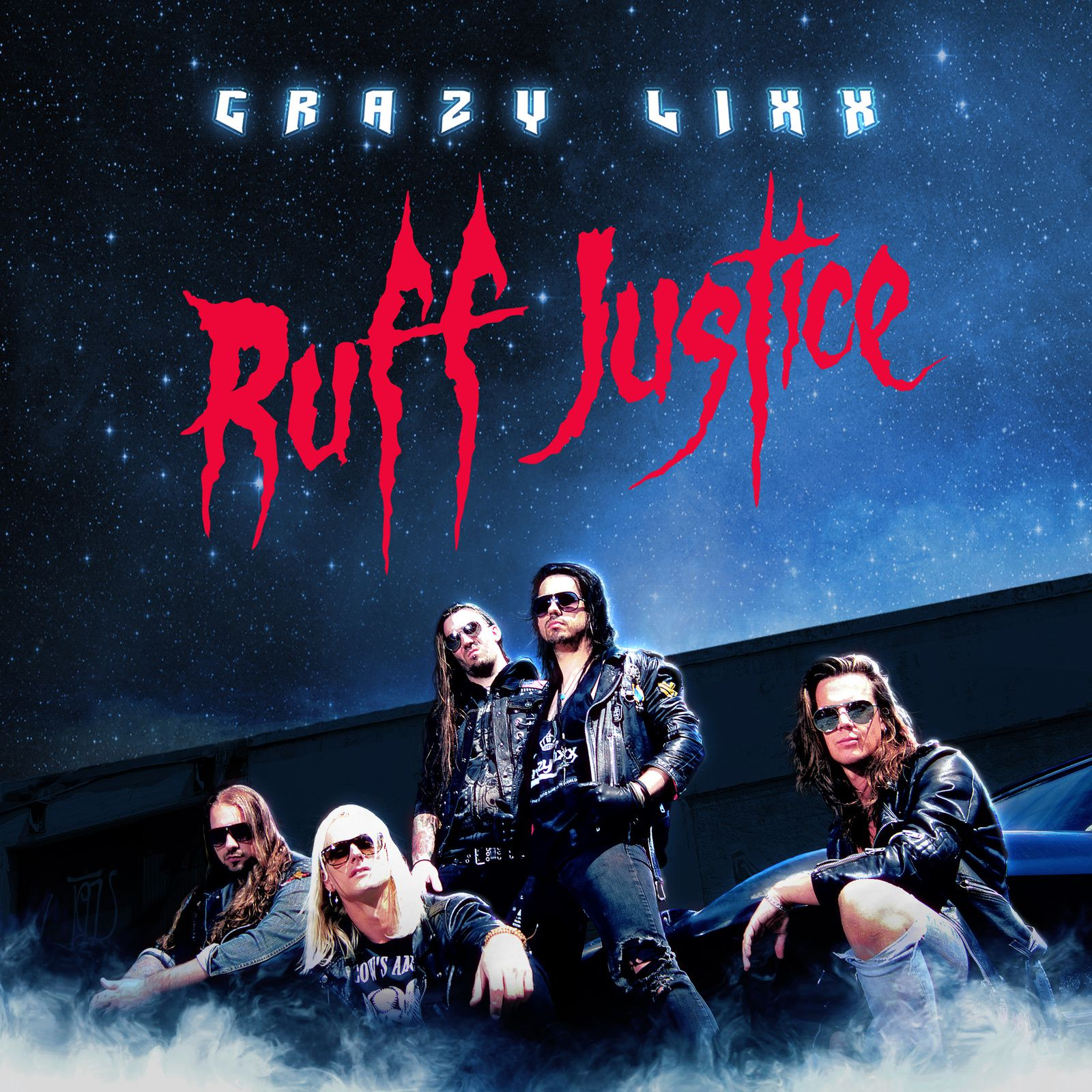"CD review CRAZY LIXX ""Ruff Justice"""