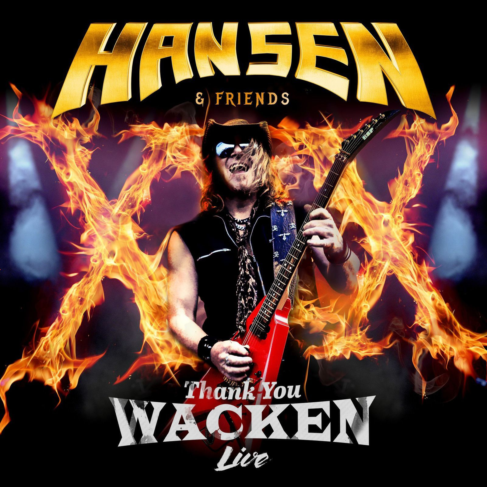 "KAI HANSEN announces ""Thank You Wacken"""
