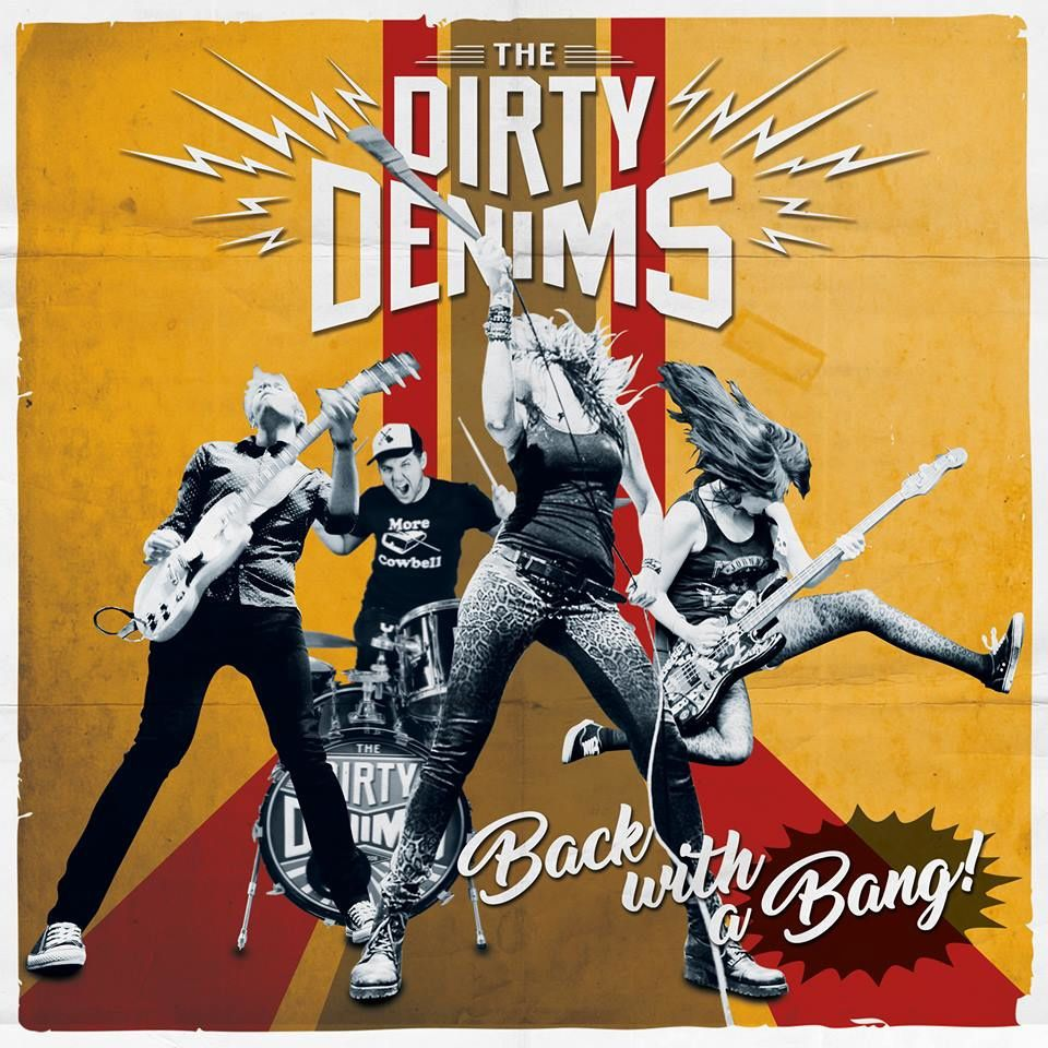"""CD review THE DIRTY DENIMS """"Back With A Bang!"""""""