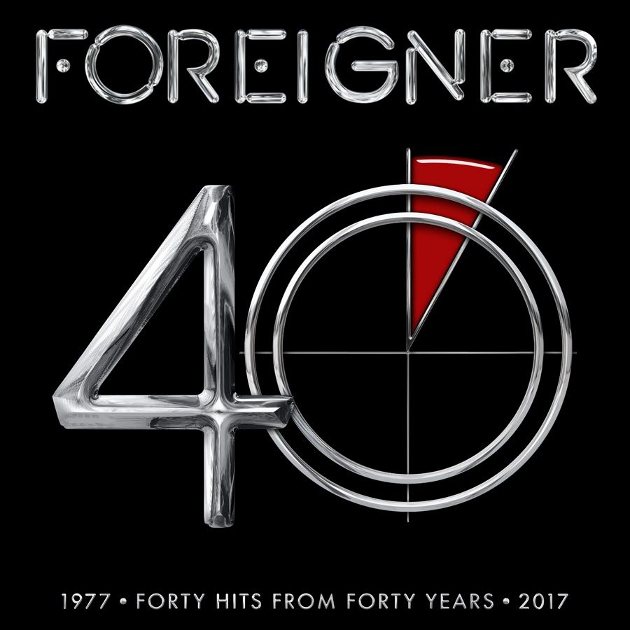 """CD review FOREIGNER """"40"""""""