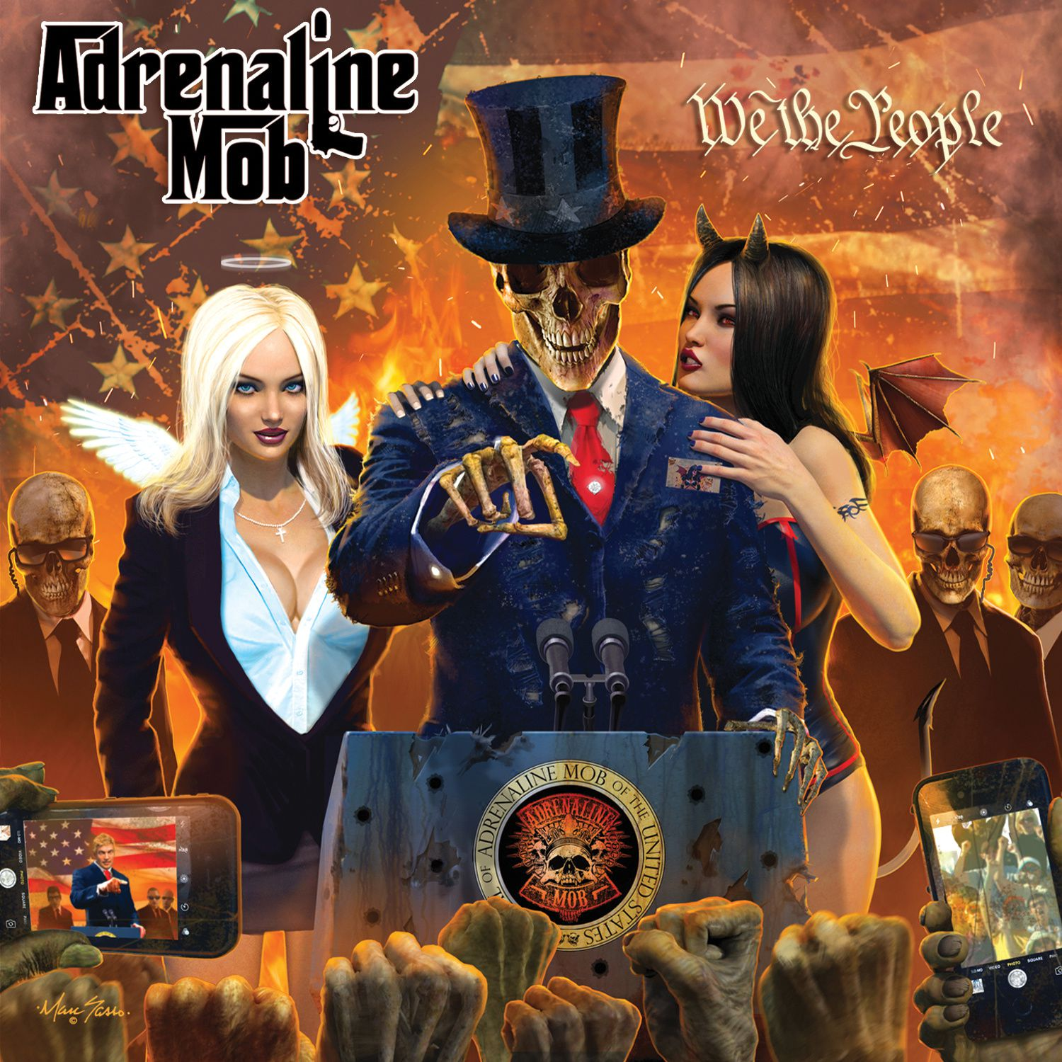 """CD review ADRENALINE MOB """"We the People"""""""