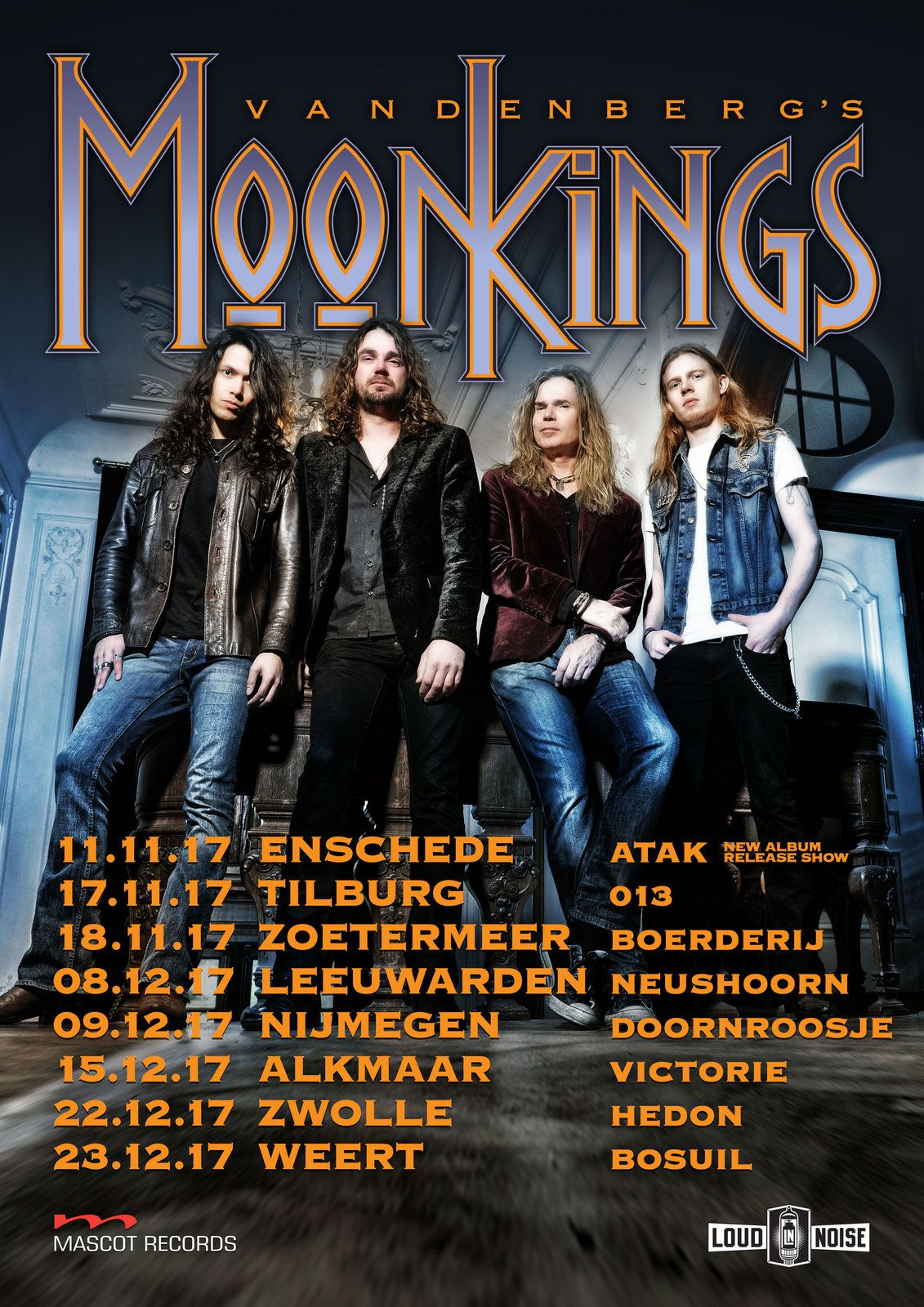 VANDENBERG'S MOONKINGS announce a new album