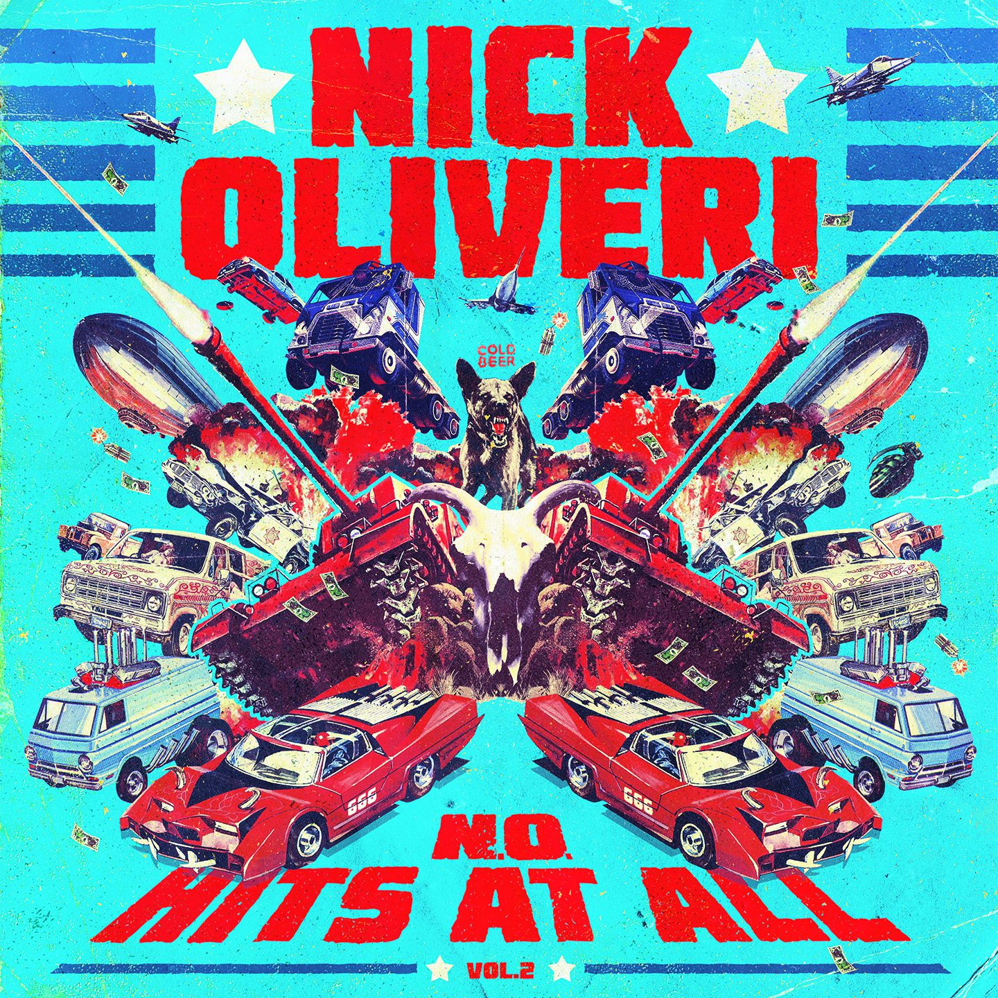 "CD review NICK OLIVERI ""N.O. Hits at All - Volume 2"""
