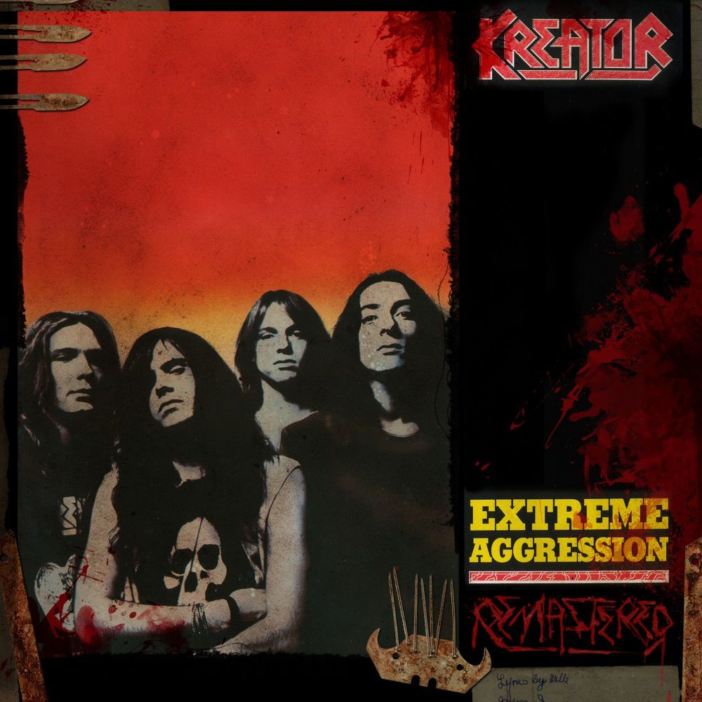 "CD review KREATOR ""Endless Pain"" / ""Pleasure to Kill"" / ""Terrible Certainty"" / Extreme Aggression"" - reissues (Noise lebt!)"