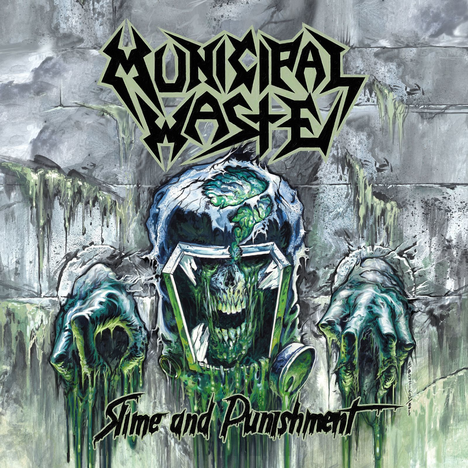"""CD review MUNICIPAL WASTE """"Slime and Punishment"""""""