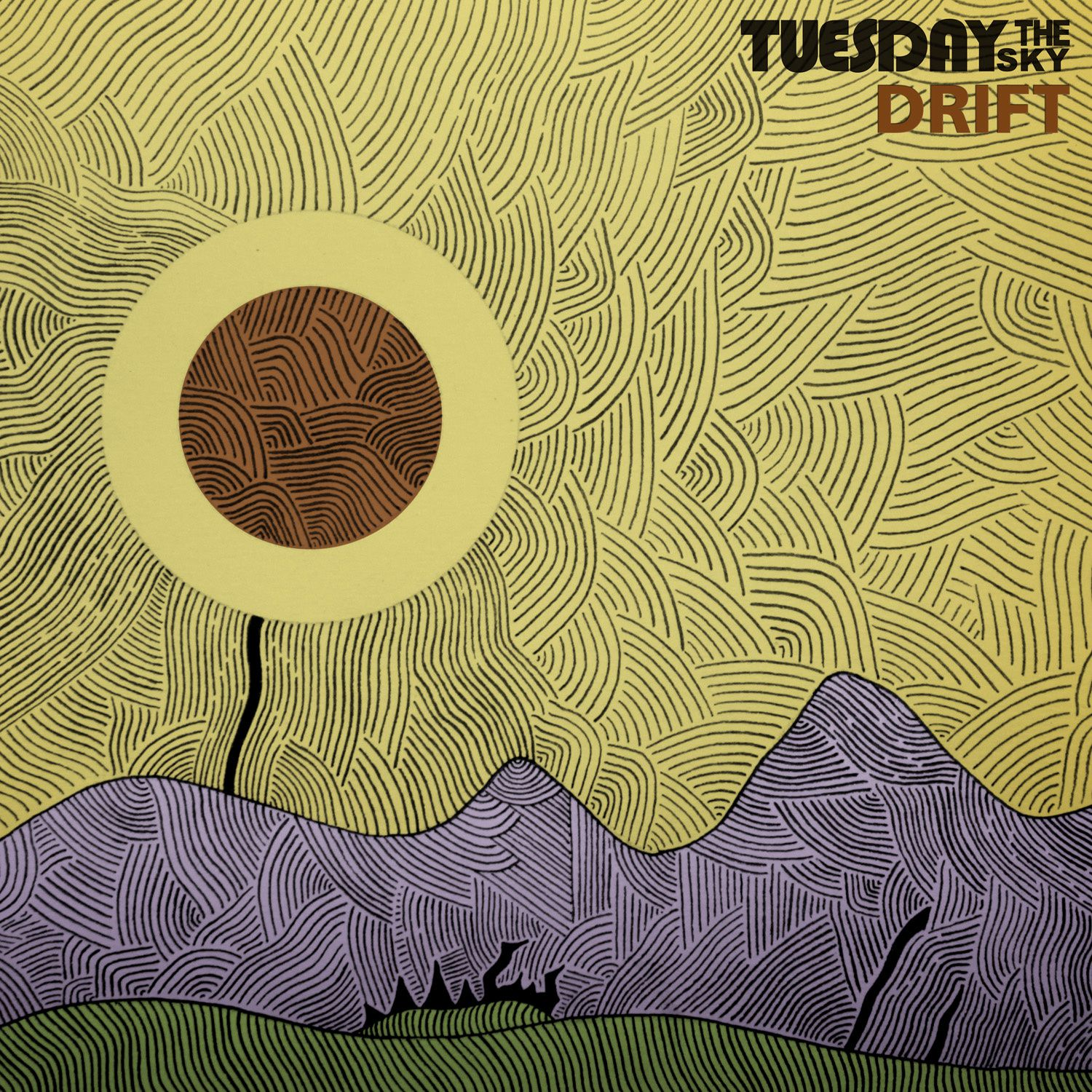 "CD review TUESDAY THE SKY ""Drift"""