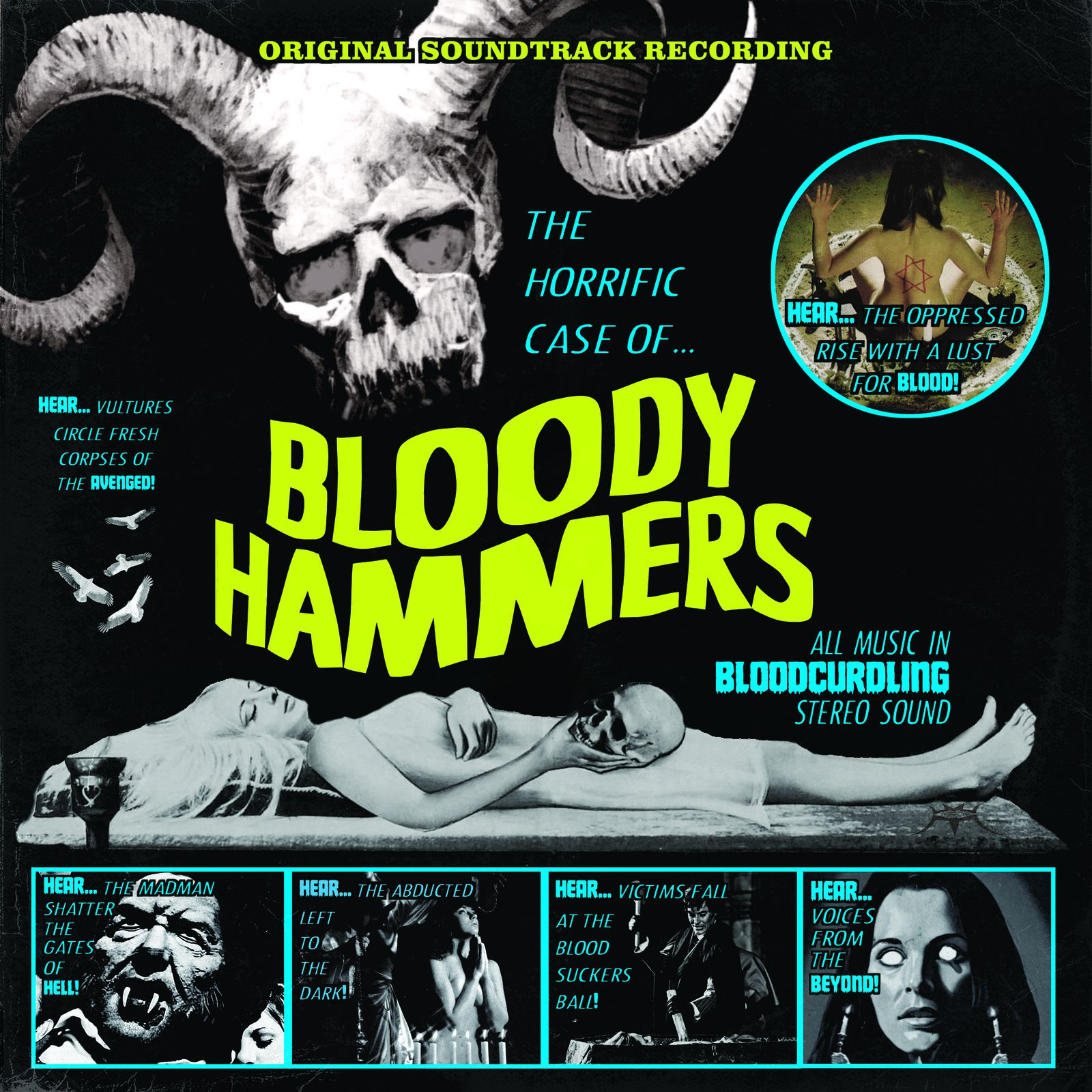 "CD review BLOODY HAMMERS ""The Horrific Case of Bloody Hammers"""