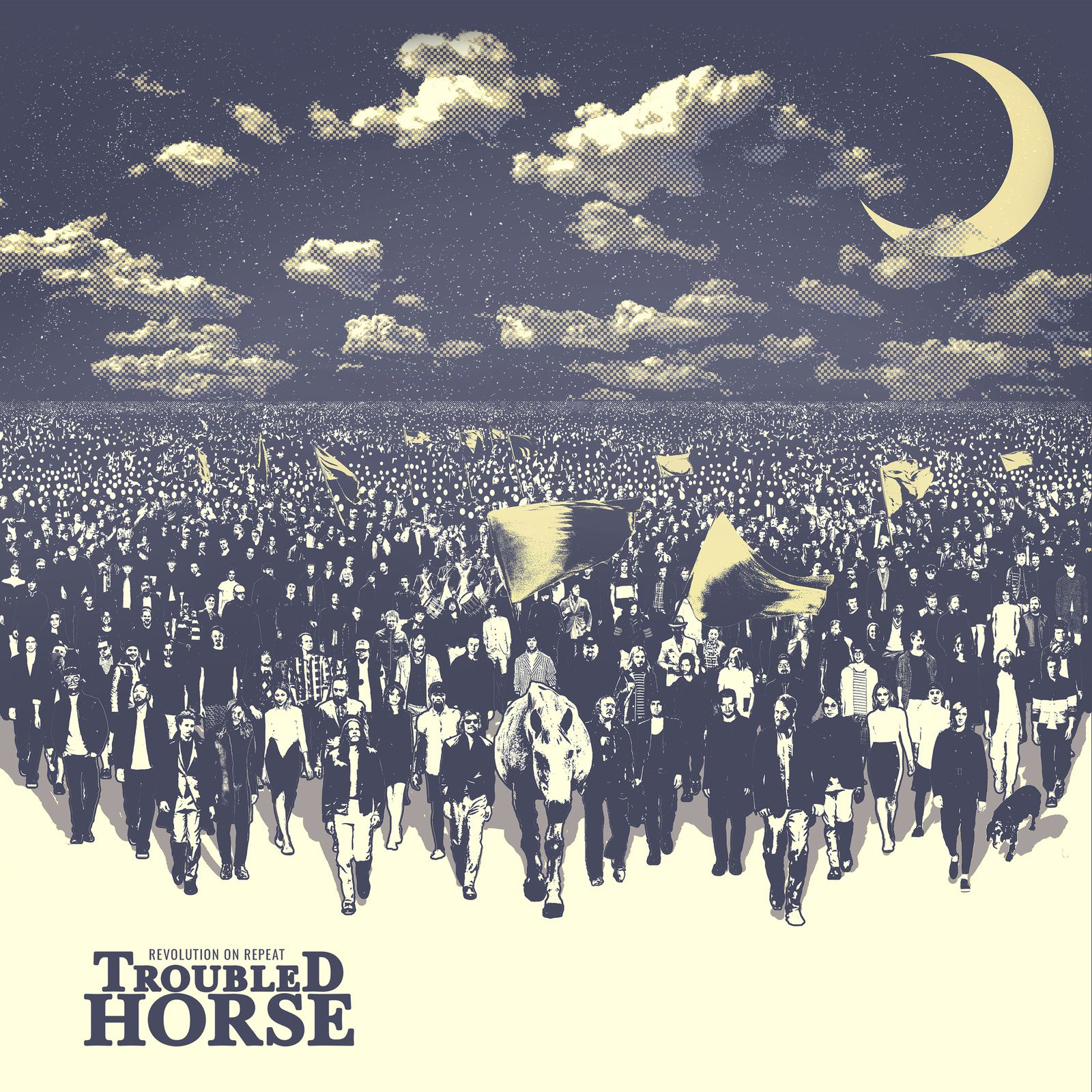 "CD review TROUBLED HORSE ""Revolution on Repeat"""