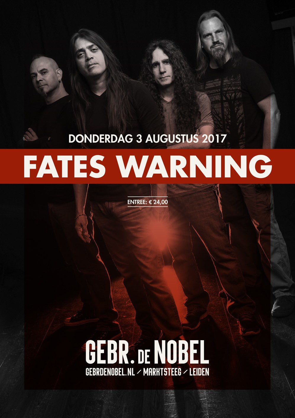 FATES WARNING at Gebr. de Nobel in Leiden