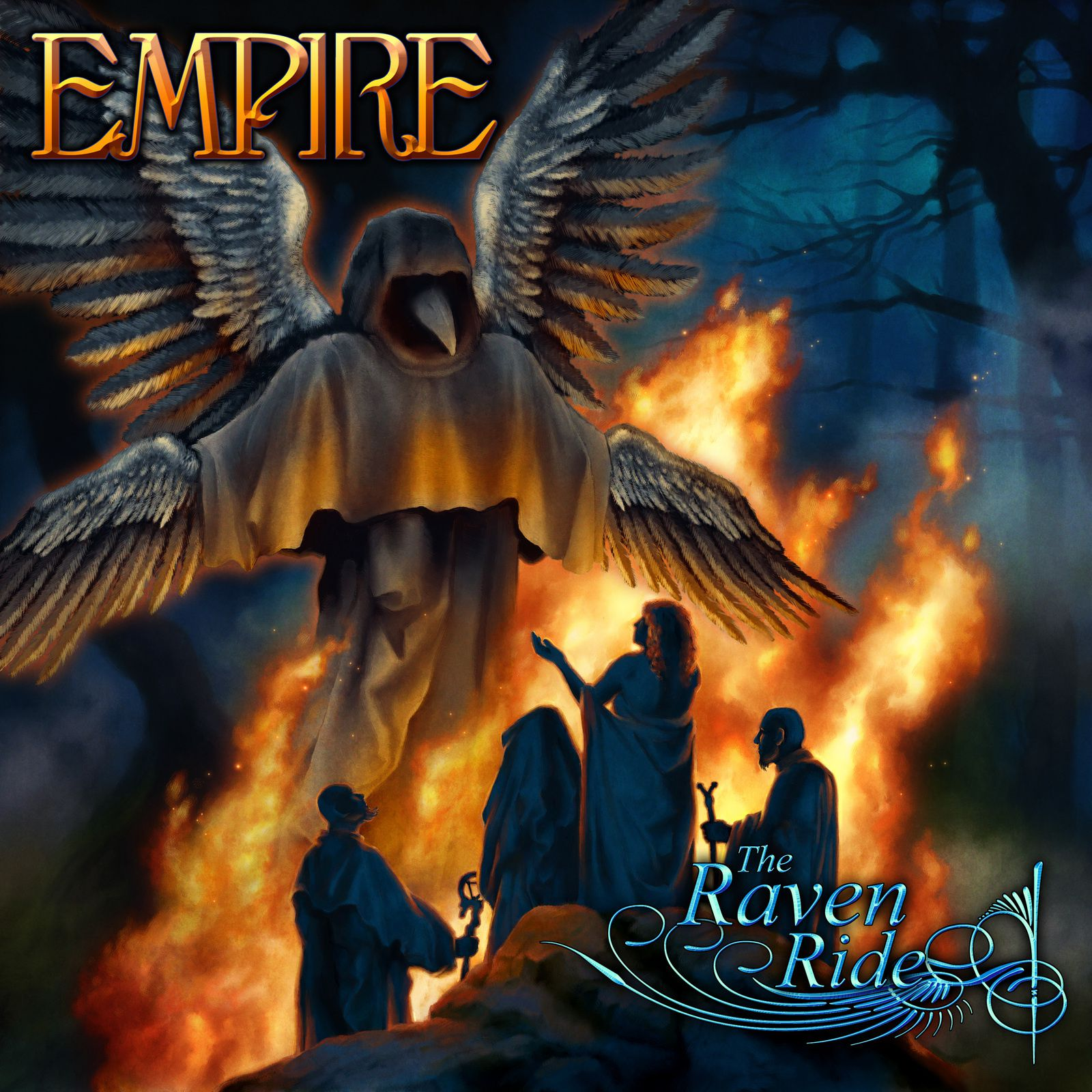 "CD review EMPIRE ""The Raven Ride"""