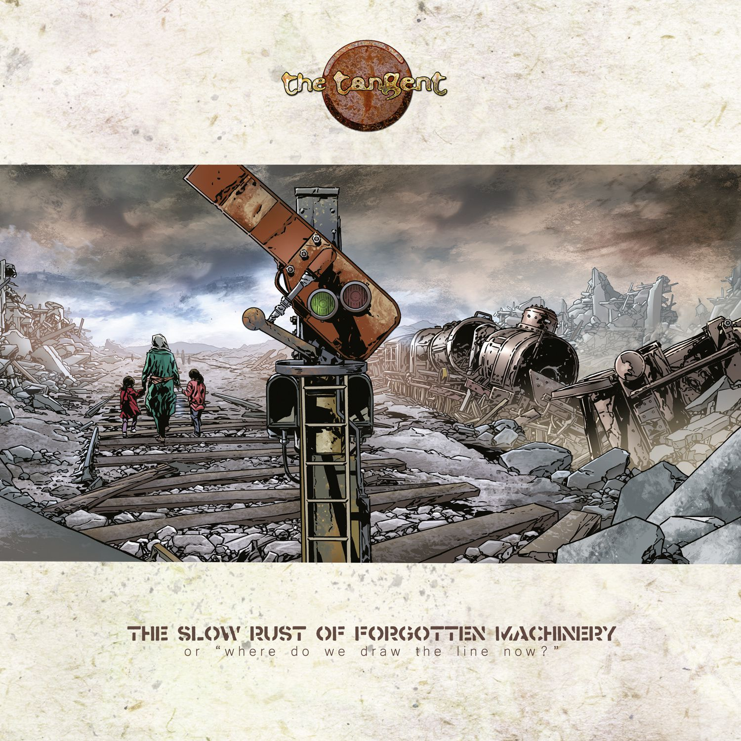 """CD review THE TANGENT """"The Slow Rust of Forgotten Machinery"""""""