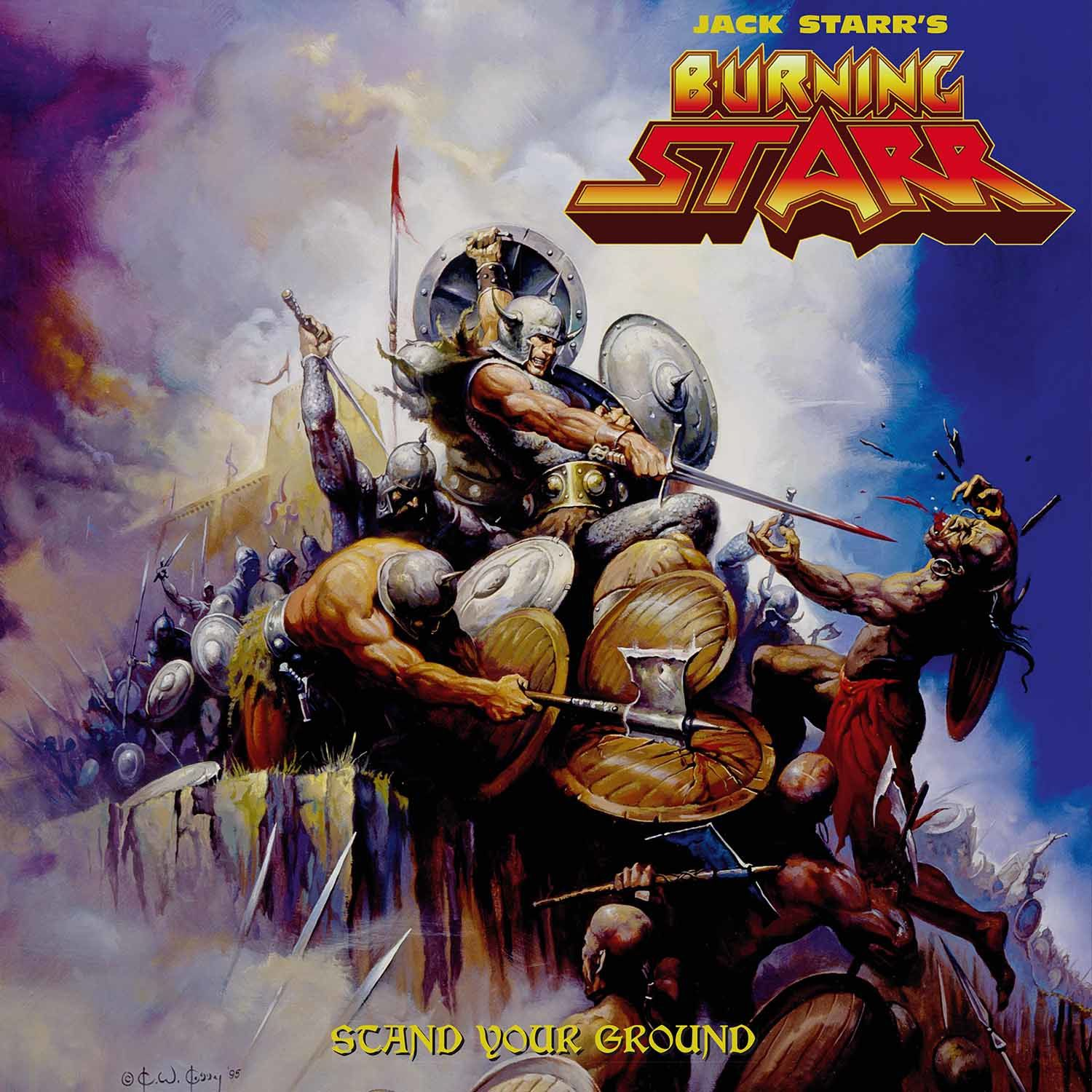 "CD review JACK STARR'S BURNING STAR ""Stand Your Ground"""