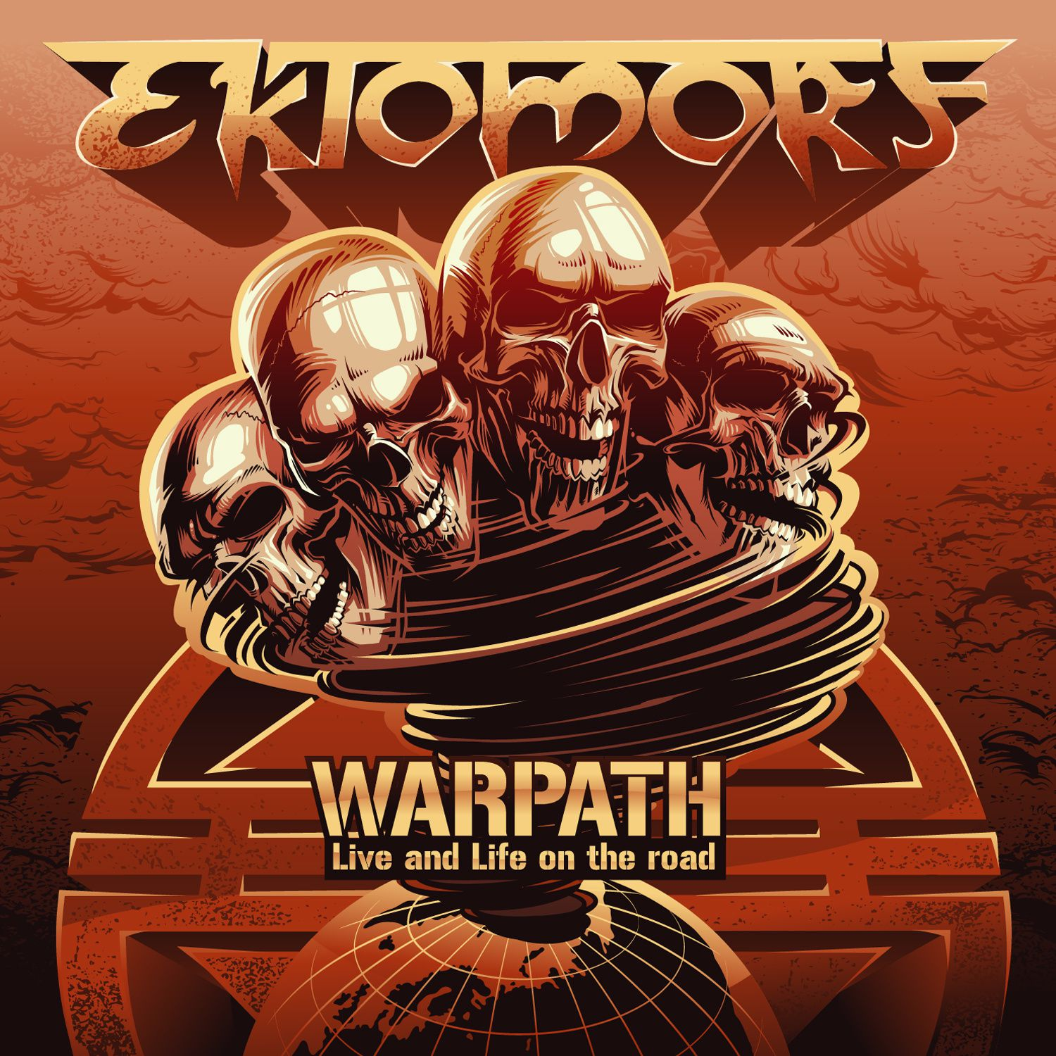 "CD review EKTOMORF ""Warpath (LIve and Life on the Road"")"