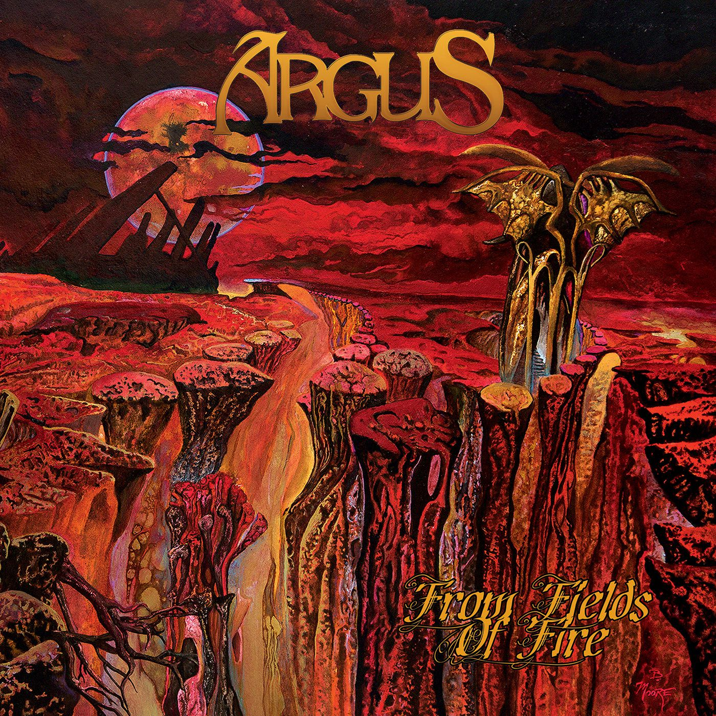 "CD review ARGUS ""From Fields of Fire"""