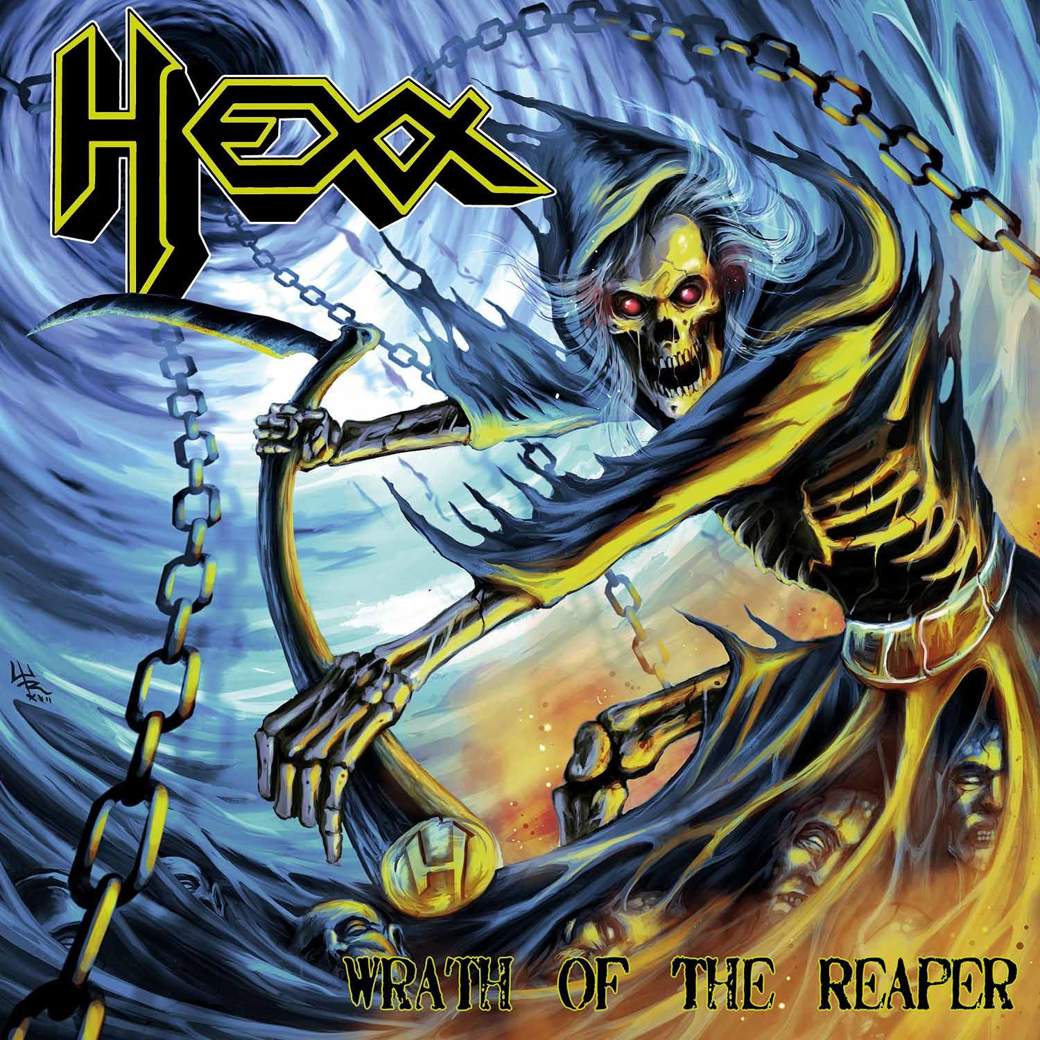 "CD review HEXX ""Wrath of the Reaper"""