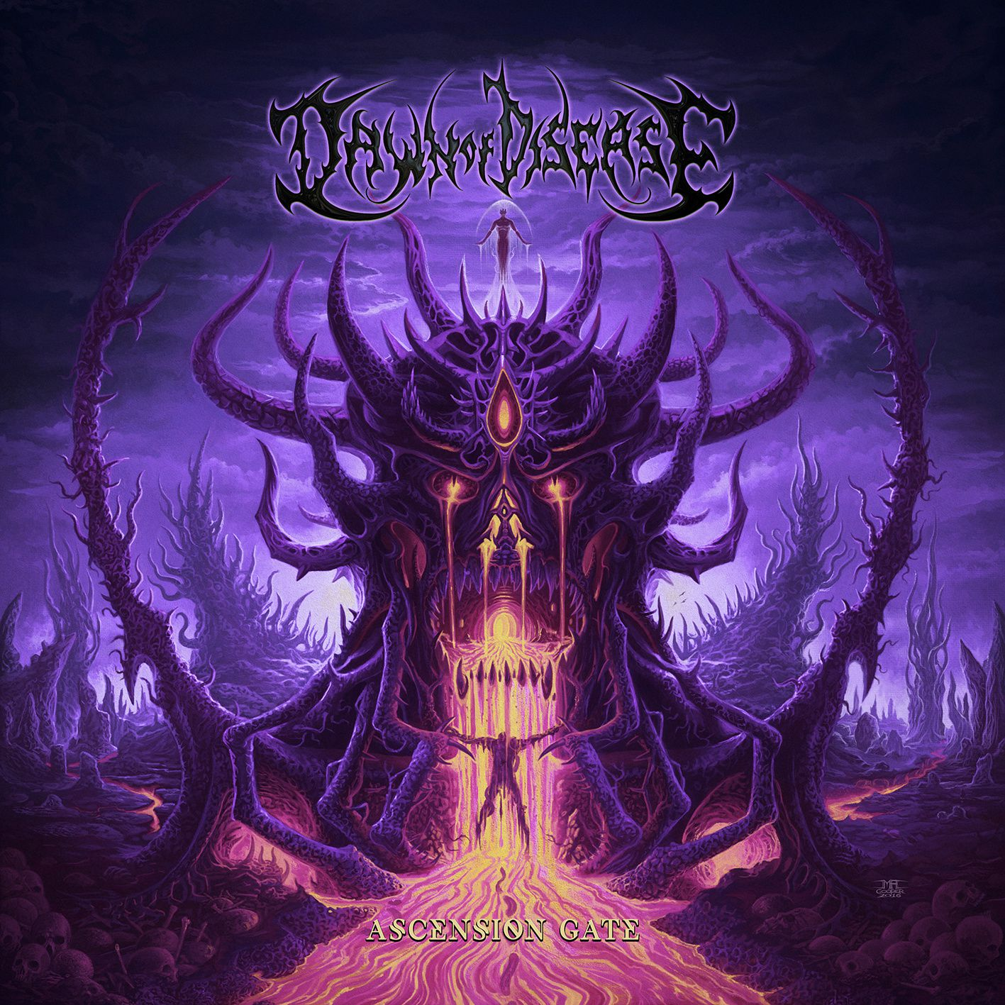 "CD review DAWN OF DISEASE ""Ascension Gate"""