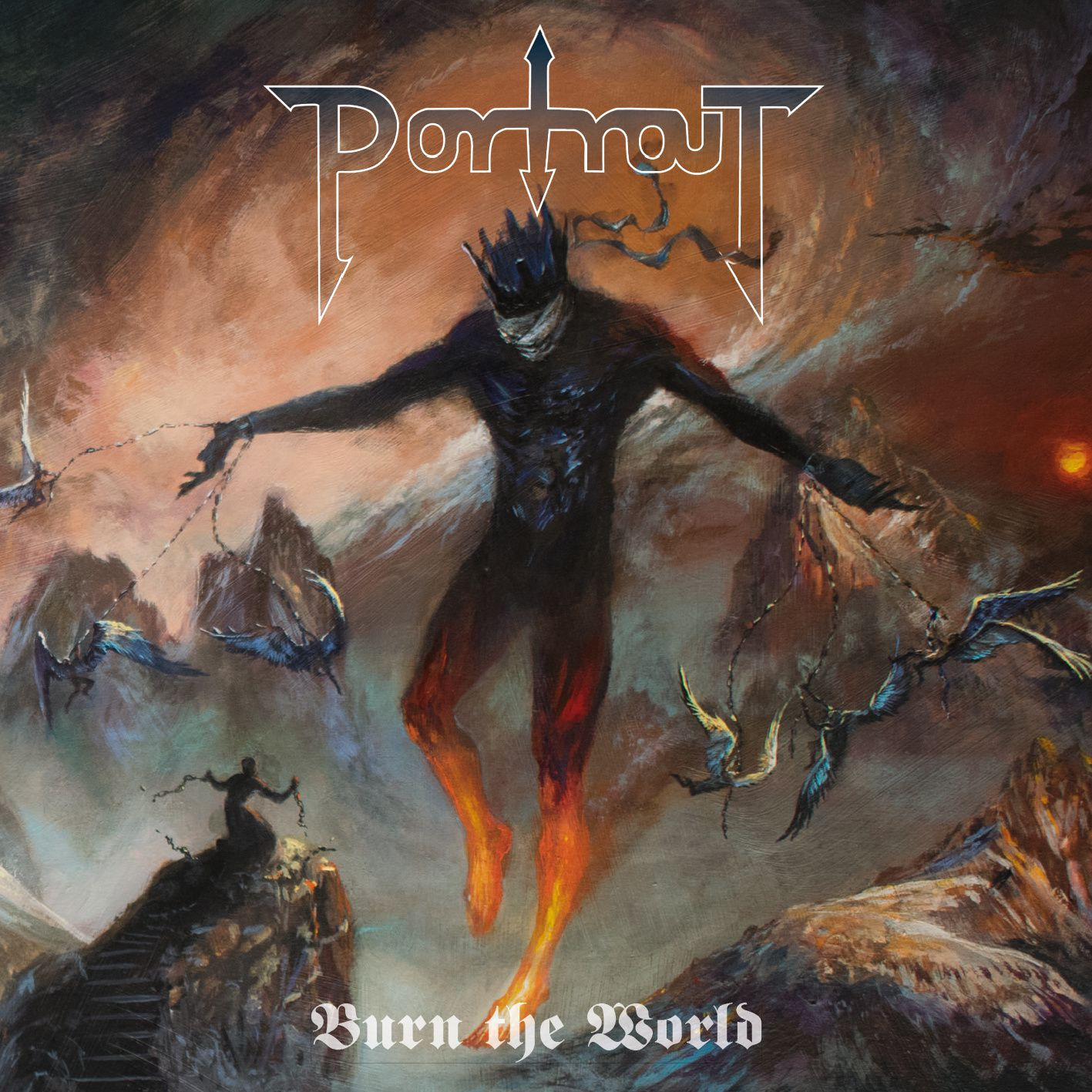 "CD review PORTRAIT ""Burn the World"""
