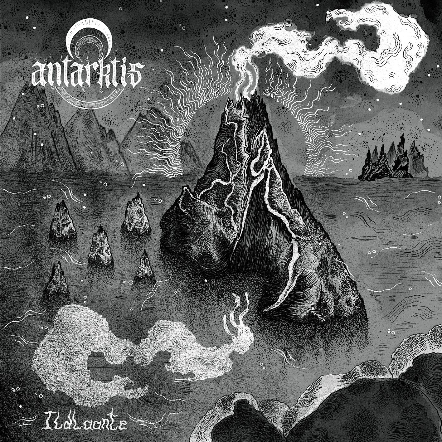 "CD review ANTARKTIS ""Ildlaante"""