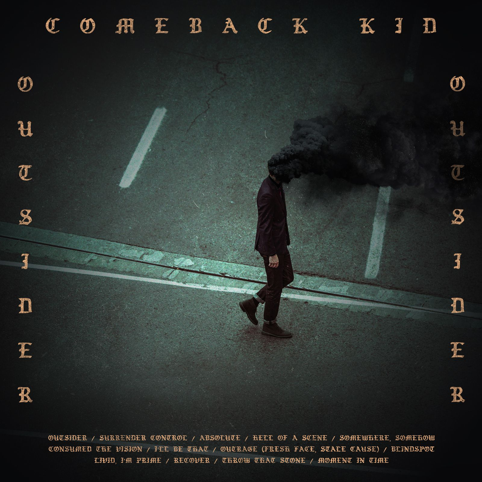 "CD review COMEBACK KID ""Outsider"""