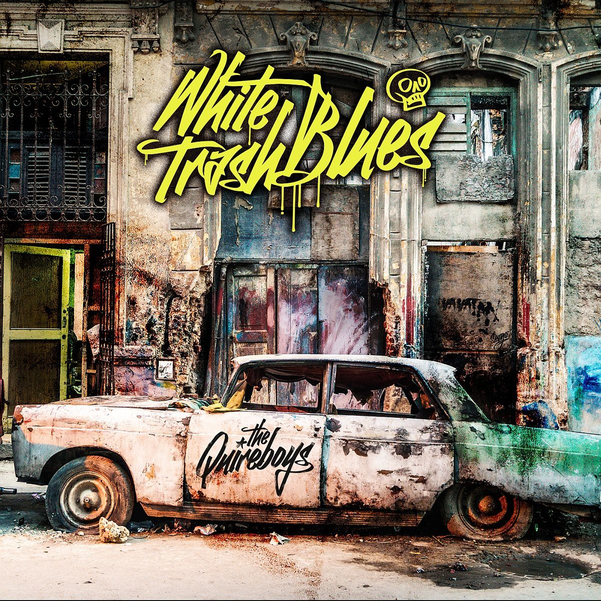 """CD review THE QUIREBOYS """"White Trash Blues"""""""