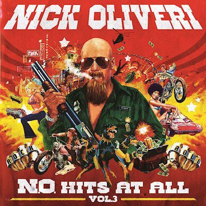 "CD review NICK OLIVERI ""N.O. Hits at All - Volume 3"" EP"