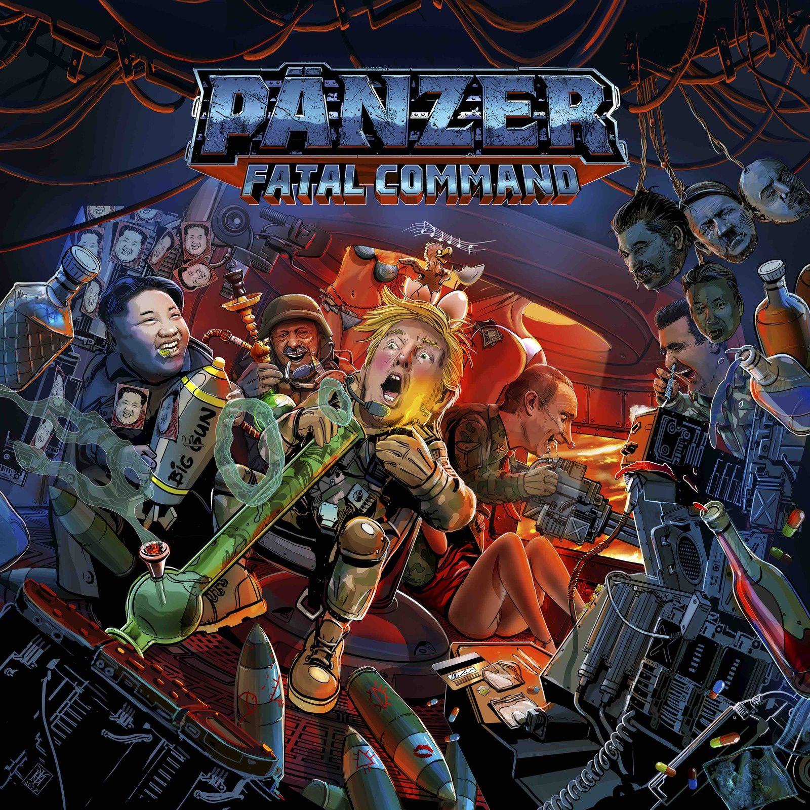 "CD review PÄNZER ""Fatal Command"""