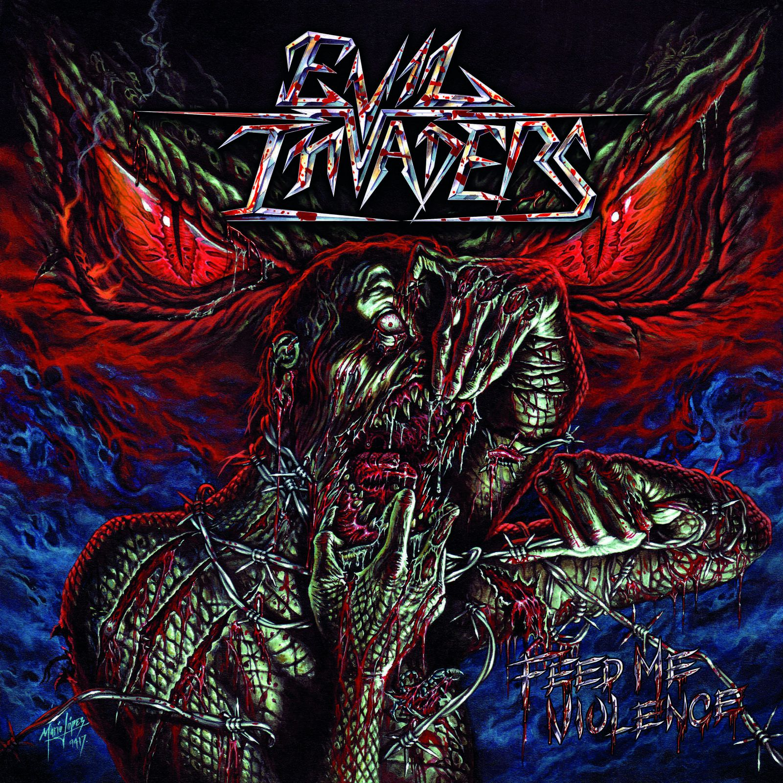 "CD review EVIL INVADERS ""Feed Me Violence"""