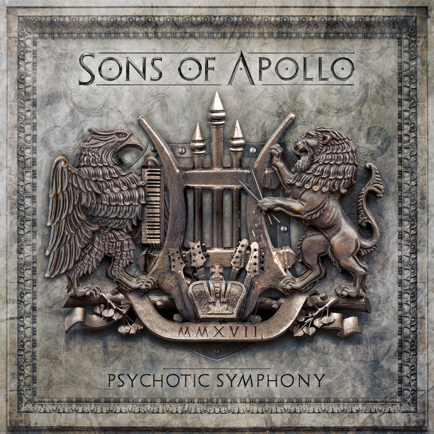"""CD review SONS OF APOLLO """"Psychotic Symphony"""""""