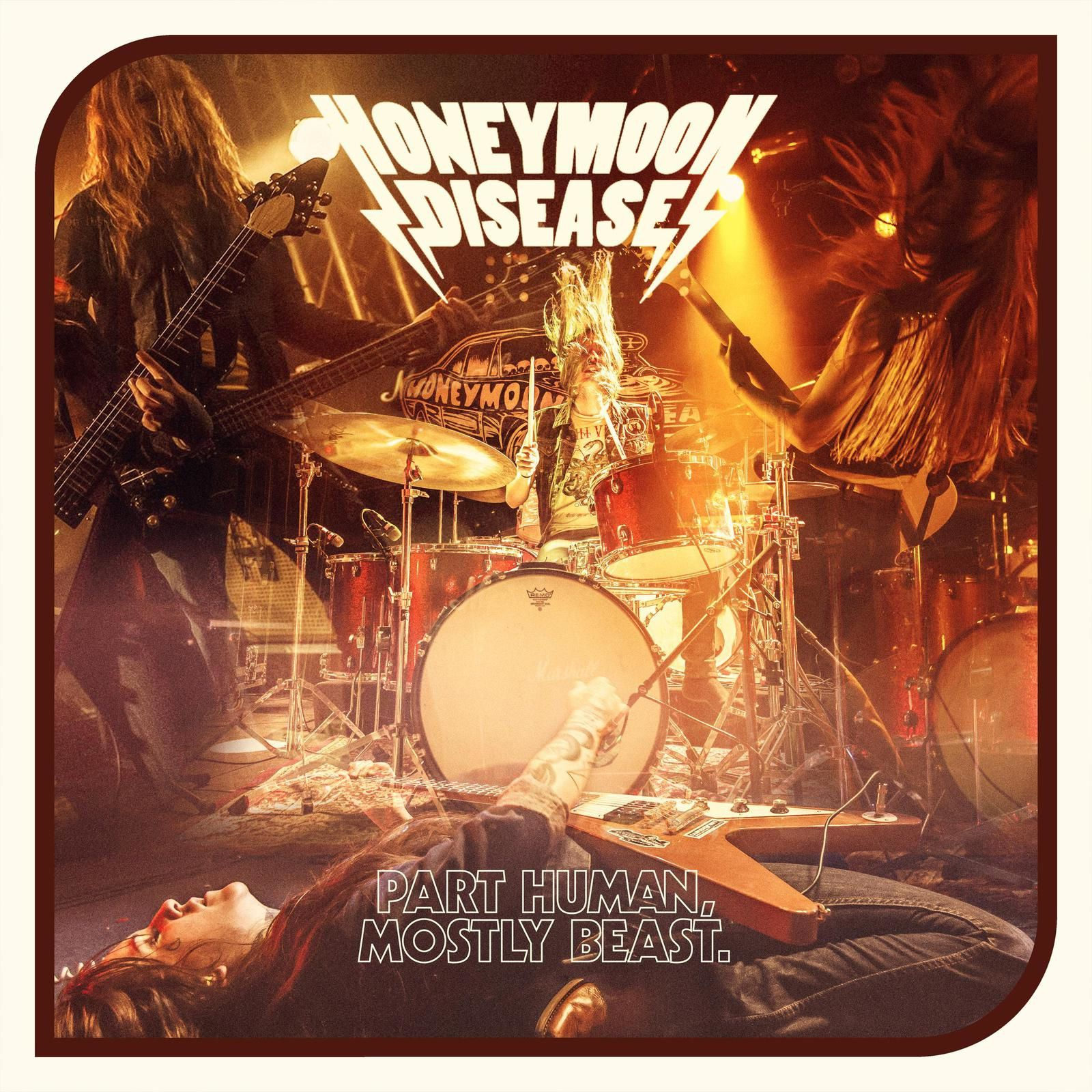 """CD review HONEYMOON DISEASE """"Partly Human, Mostly Beast"""""""