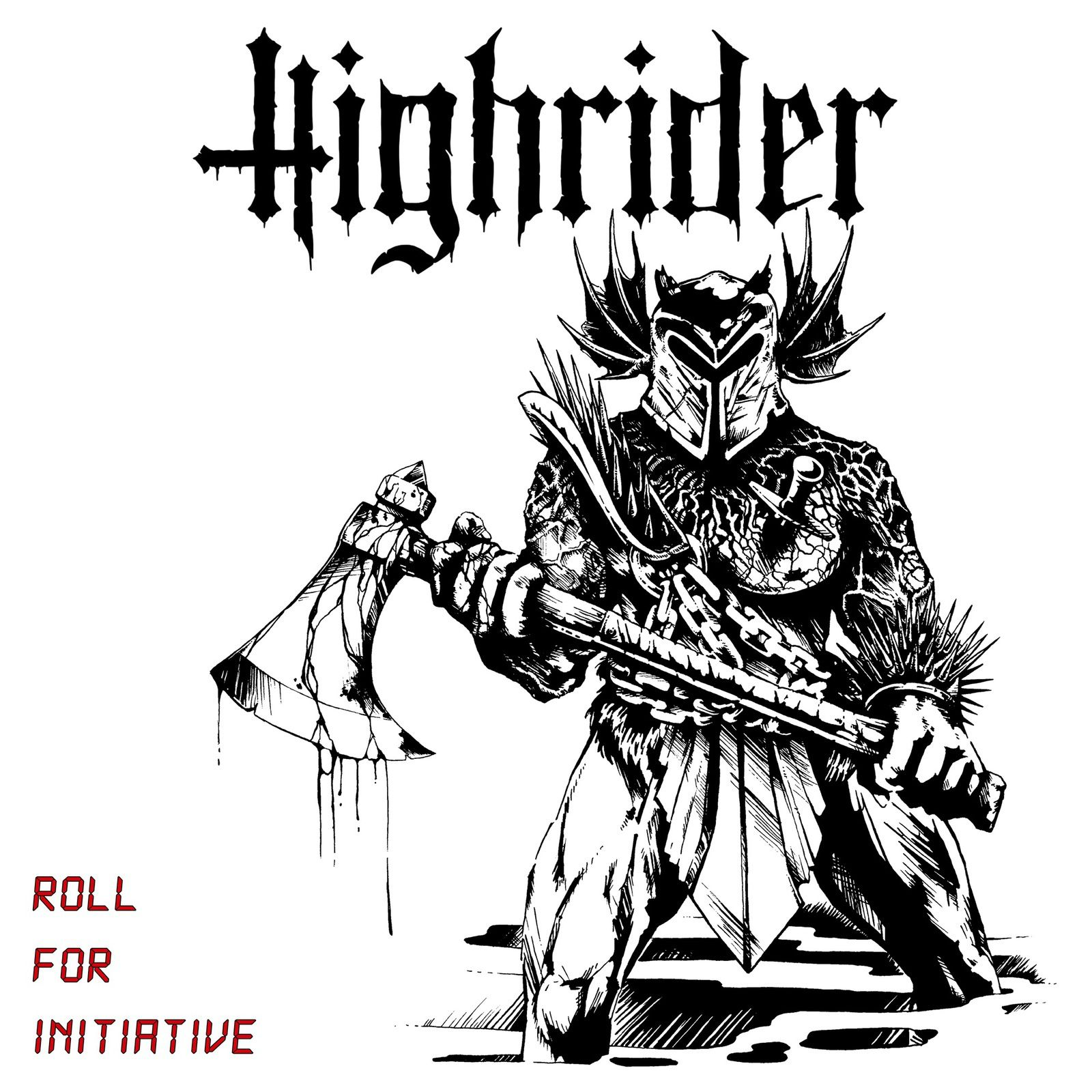 "CD review HIGHRIDER ""Roll for Initative"""