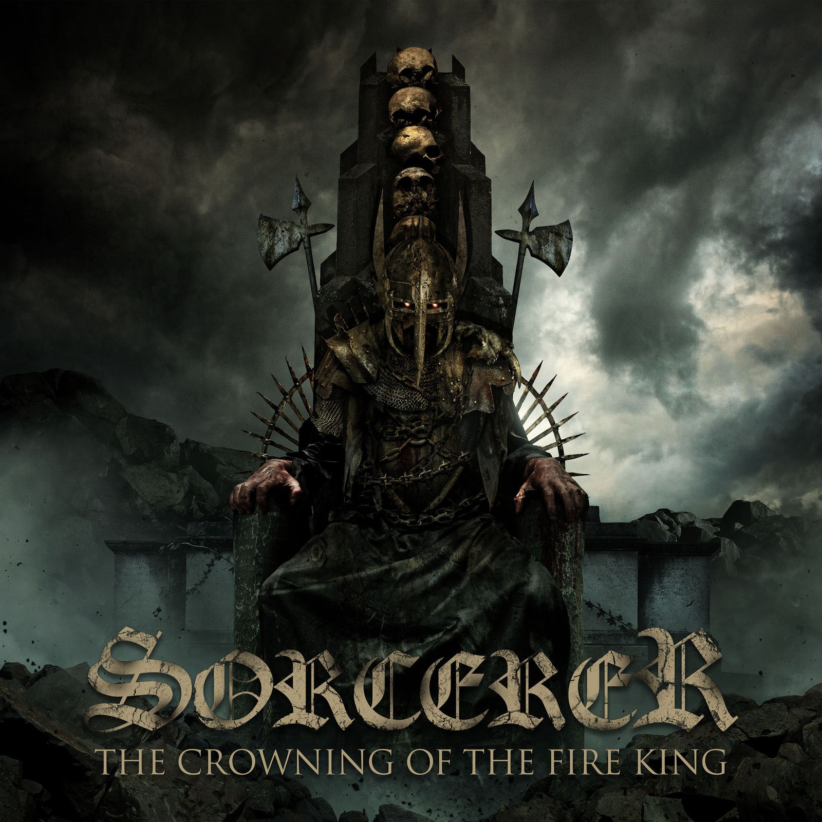 "CD review SORCERER ""The Crowning of the Fire King"""