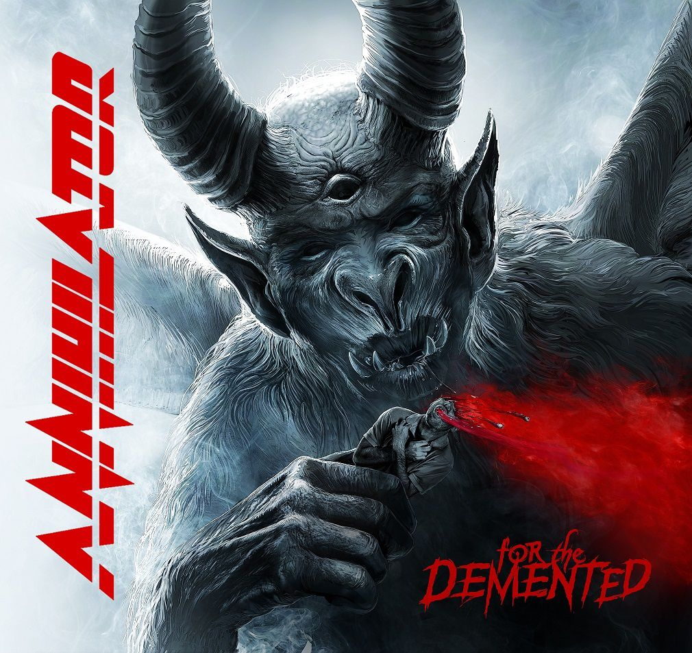 "CD review ANNIHILATOR ""For the Demented"""