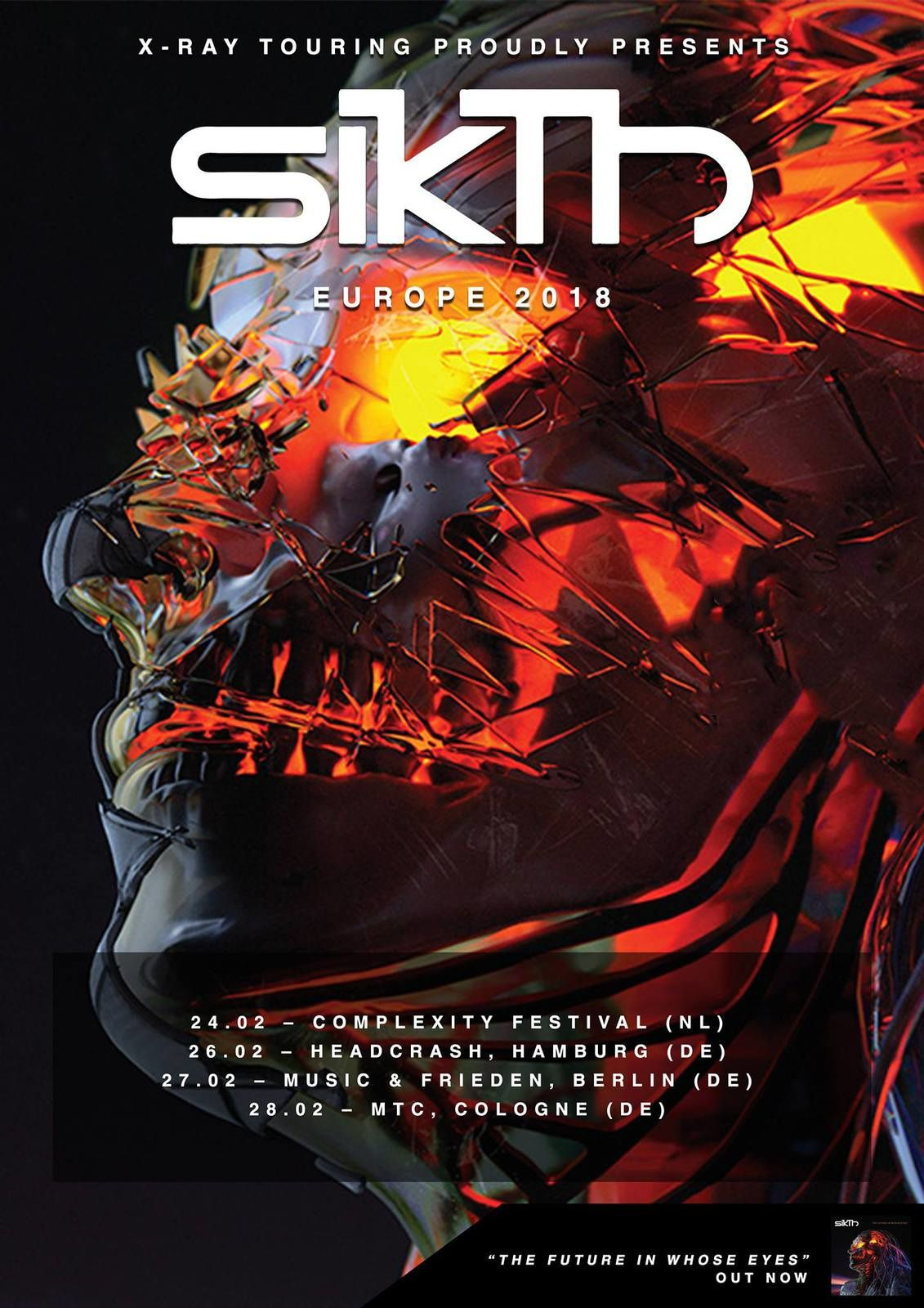 SIKTH tour dates for Europe