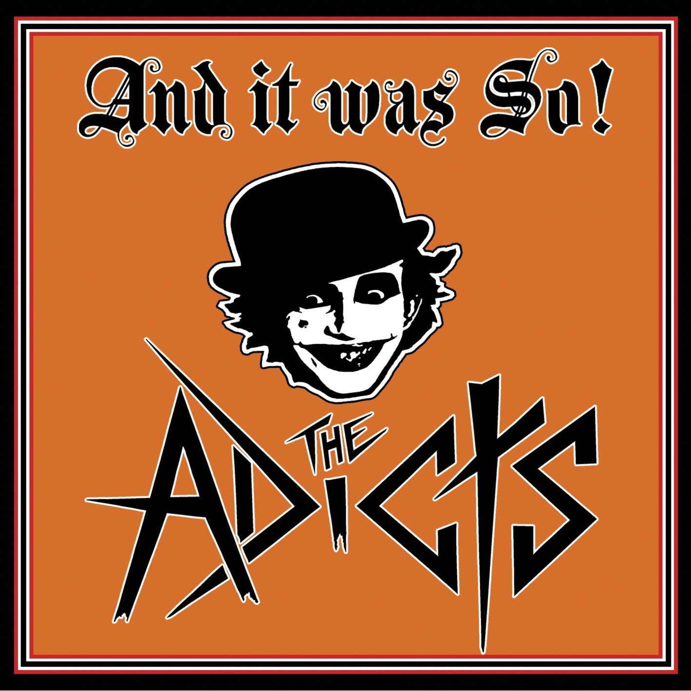 "CD review THE ADICTS ""And it was So!"""
