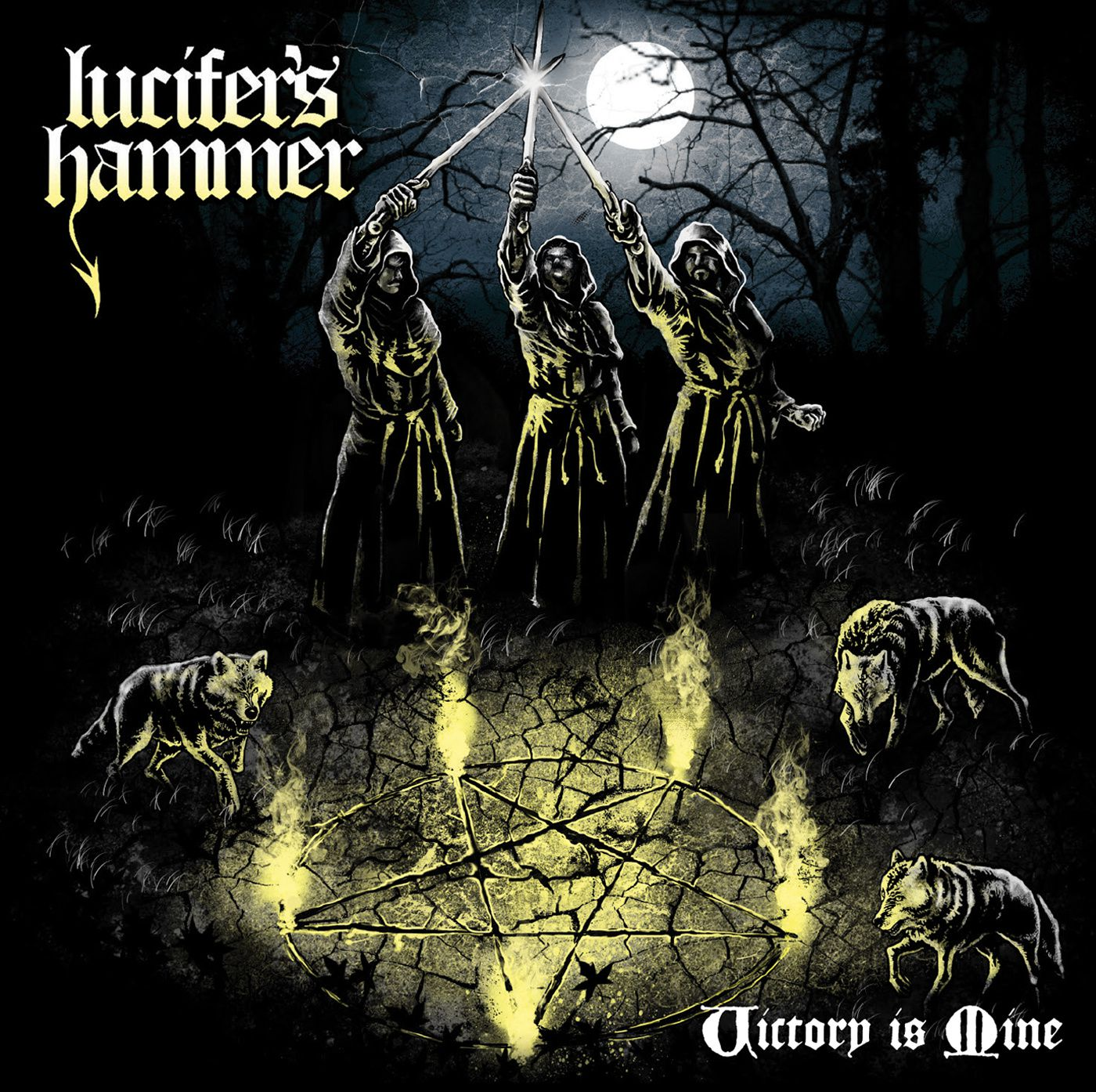 "CD review LUCIFER'S HAMMER ""Victory is Mine"" - EP"