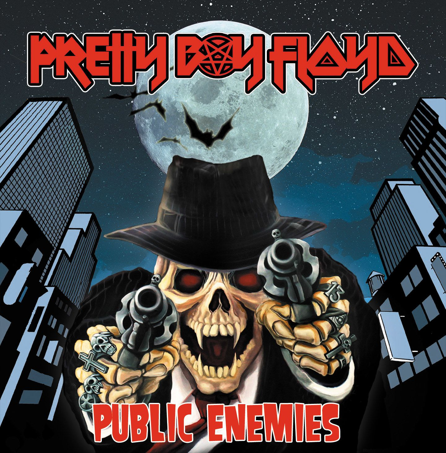 "CD review PRETTY BOY FLOYD ""Public Enemy"""