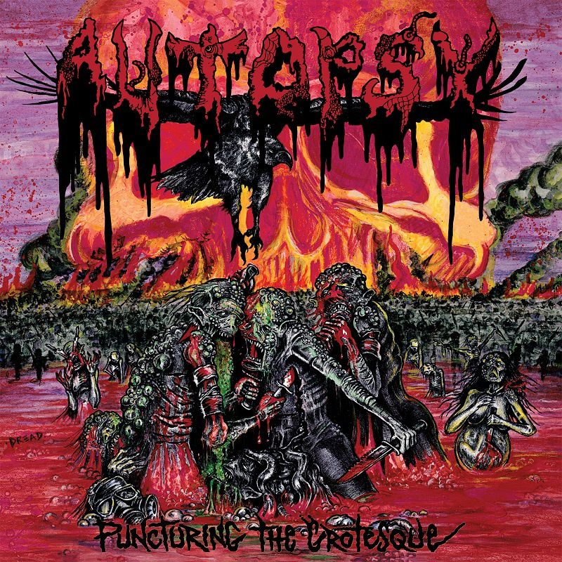 "CD review AUTOPSY ""Puncturing the Grotesque"""