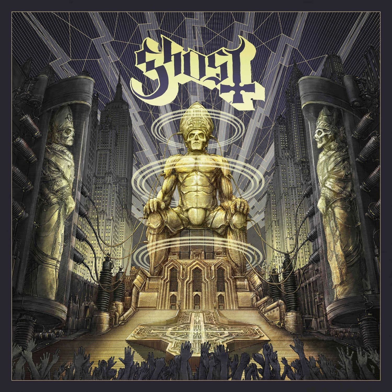 "CD review GHOST ""Ceremony and Devotion"""