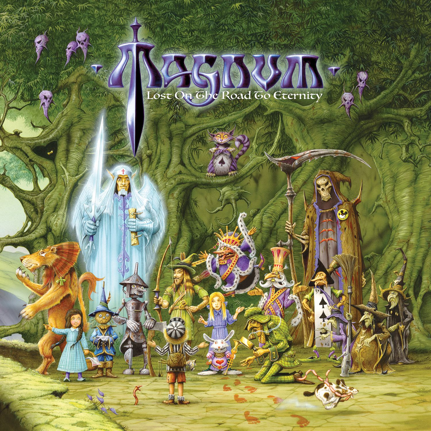 """CD review MAGNUM """"Lost on the Road to Eternity"""""""