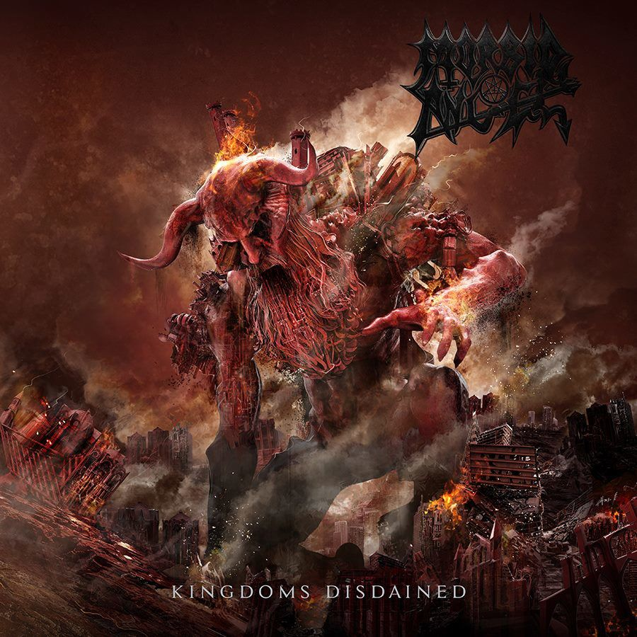 "CD review MORBID ANGEL ""Kingdoms Disdained"""