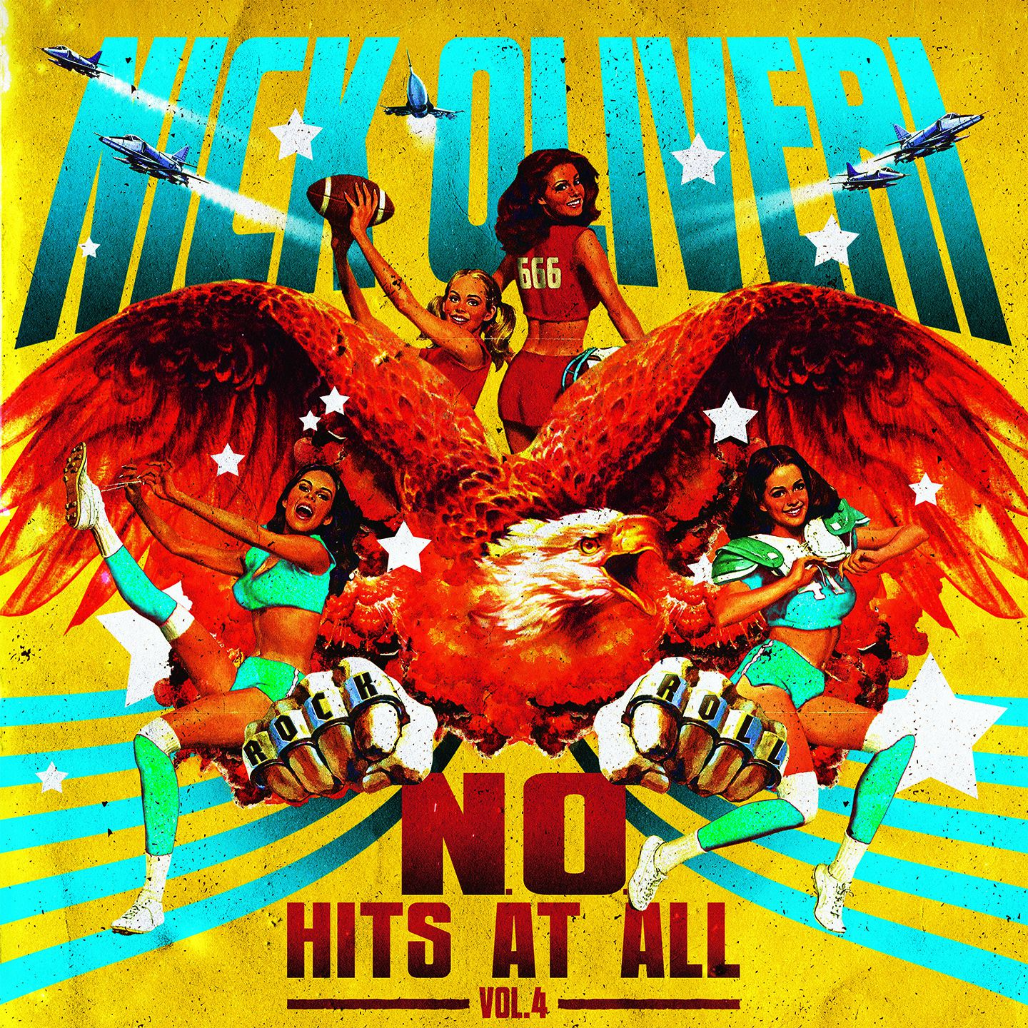 "CD review NICK OLIVERI ""N.O. Hits at All - Volume 4"" EP"