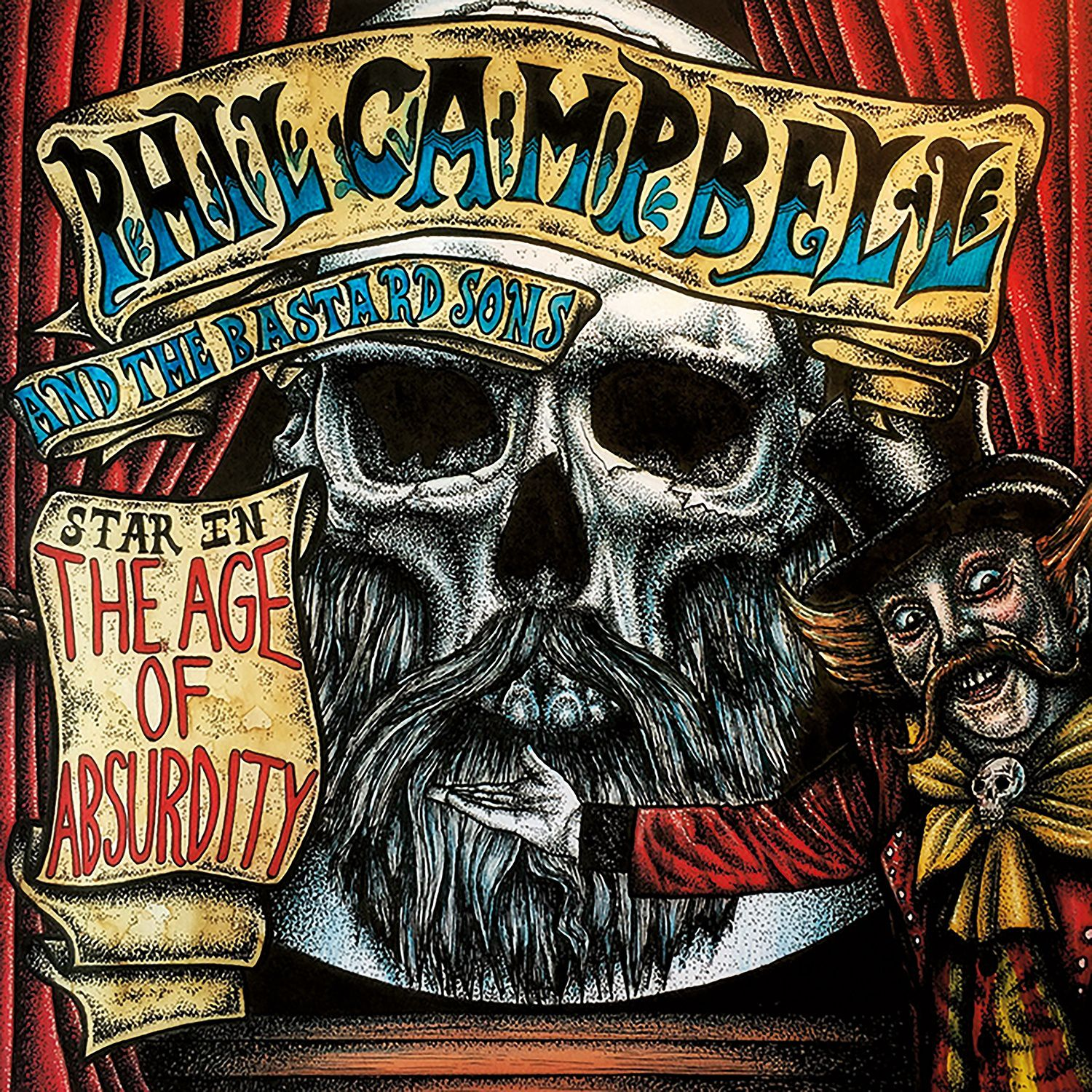 """CD review PHIL CAMPBELL AND THE BASTARD SONS """"The Age Of Absurdity"""""""