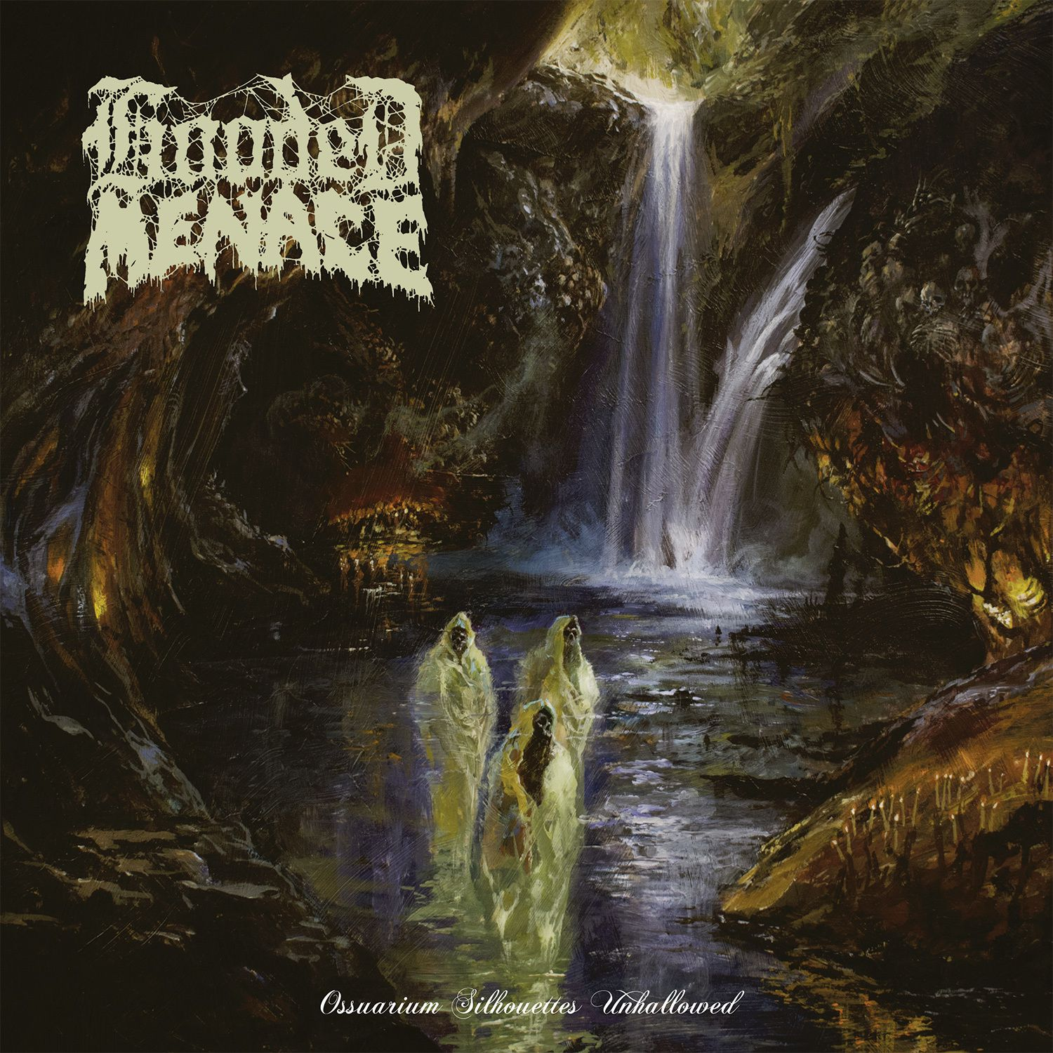 """CD review HOODED MENACE """"Ossuarium Silhouettes Unhallowed"""""""