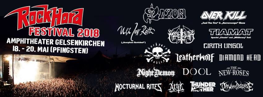 ROCK HARD festival announces first bands