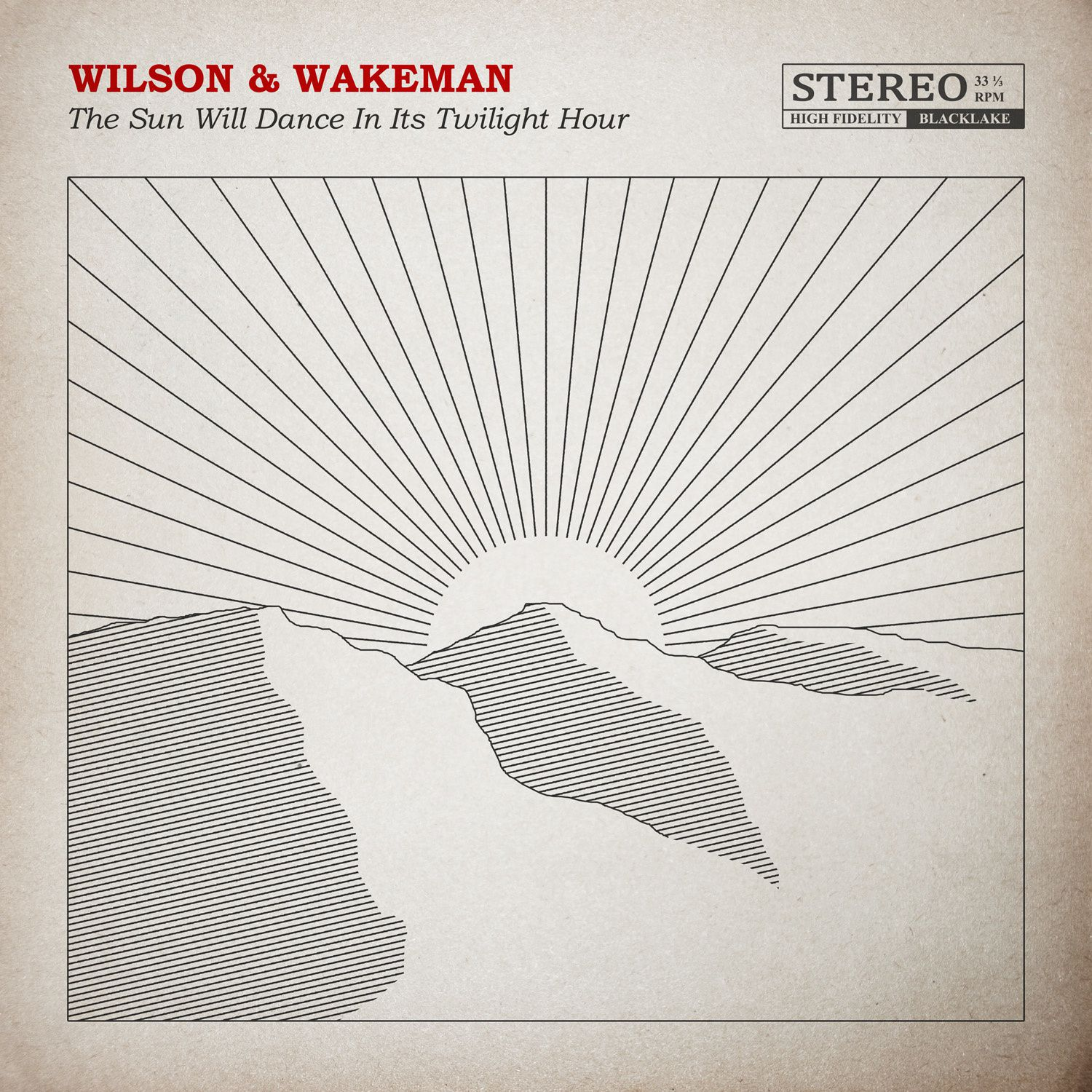 """CD review WILSON & WAKEMAN """"The Sun Will Dance in its Twilight Hour"""""""