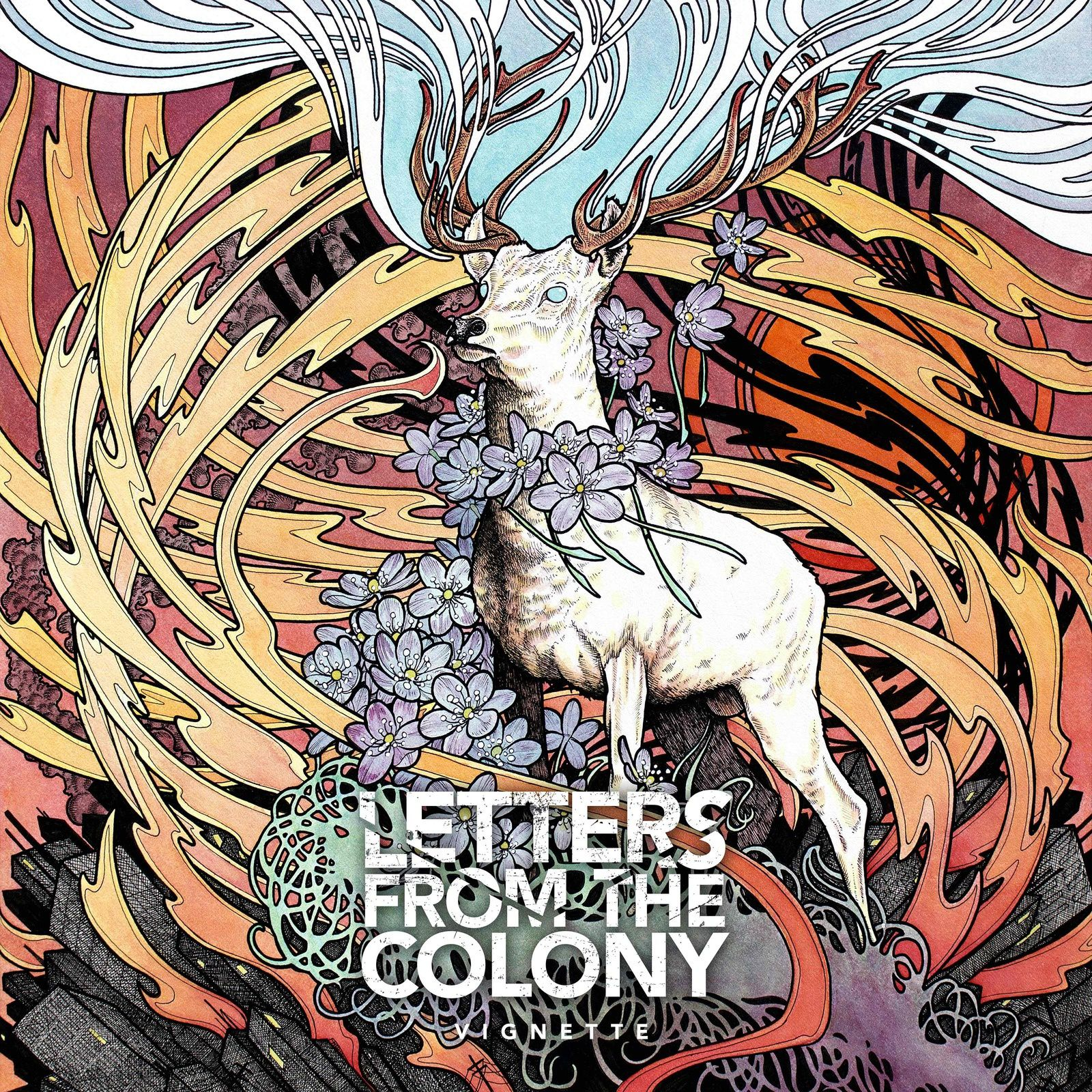 """CD review LETTERS FROM THE COLONY """"Vignette"""""""