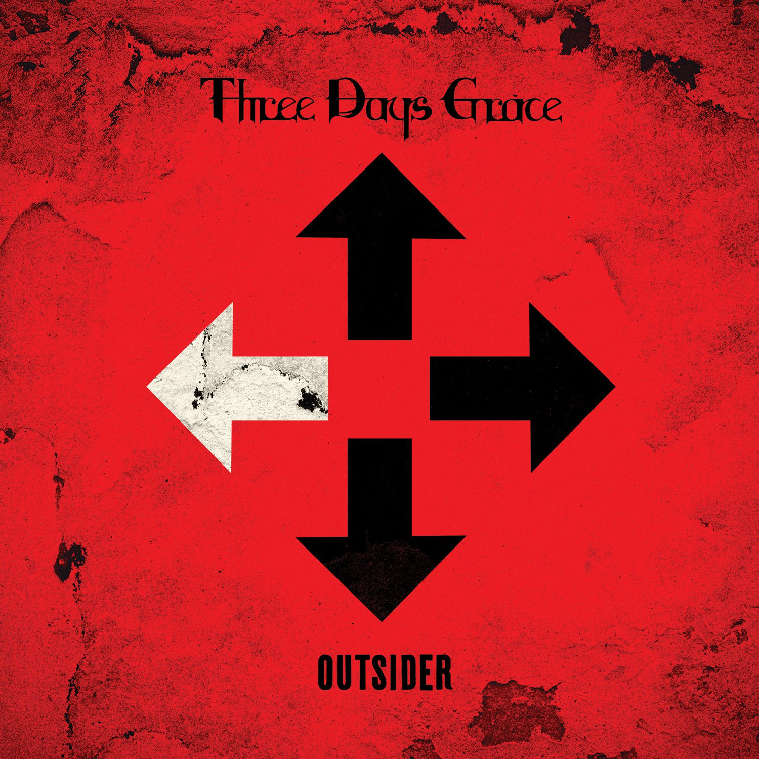 """CD review THERE DAYS GRACE """"Outsider"""""""